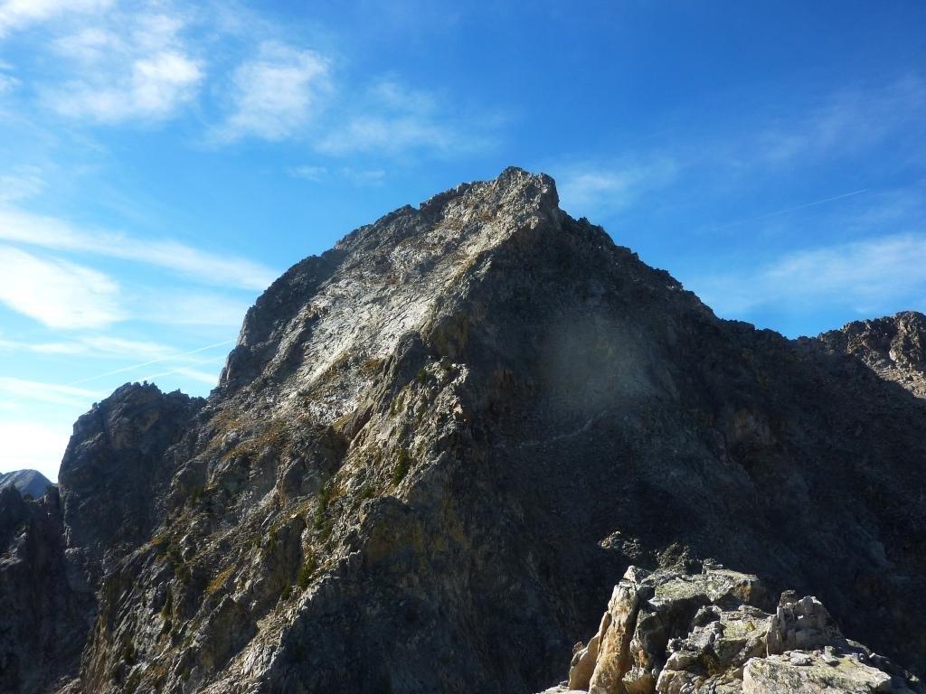 vista sulla Nord dal punto culminante della cresta iniziale