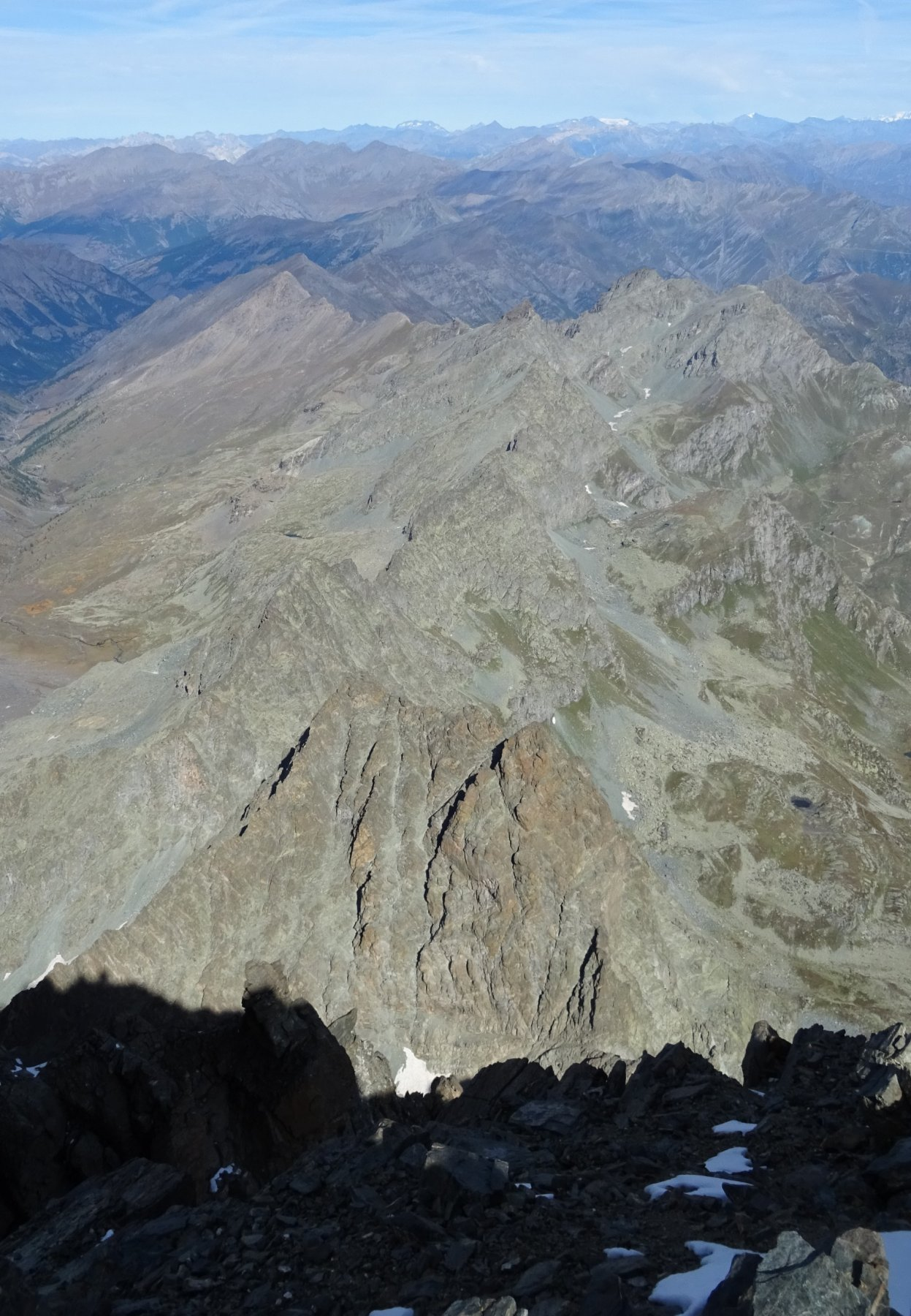 Cresta Berhault in pieno sole