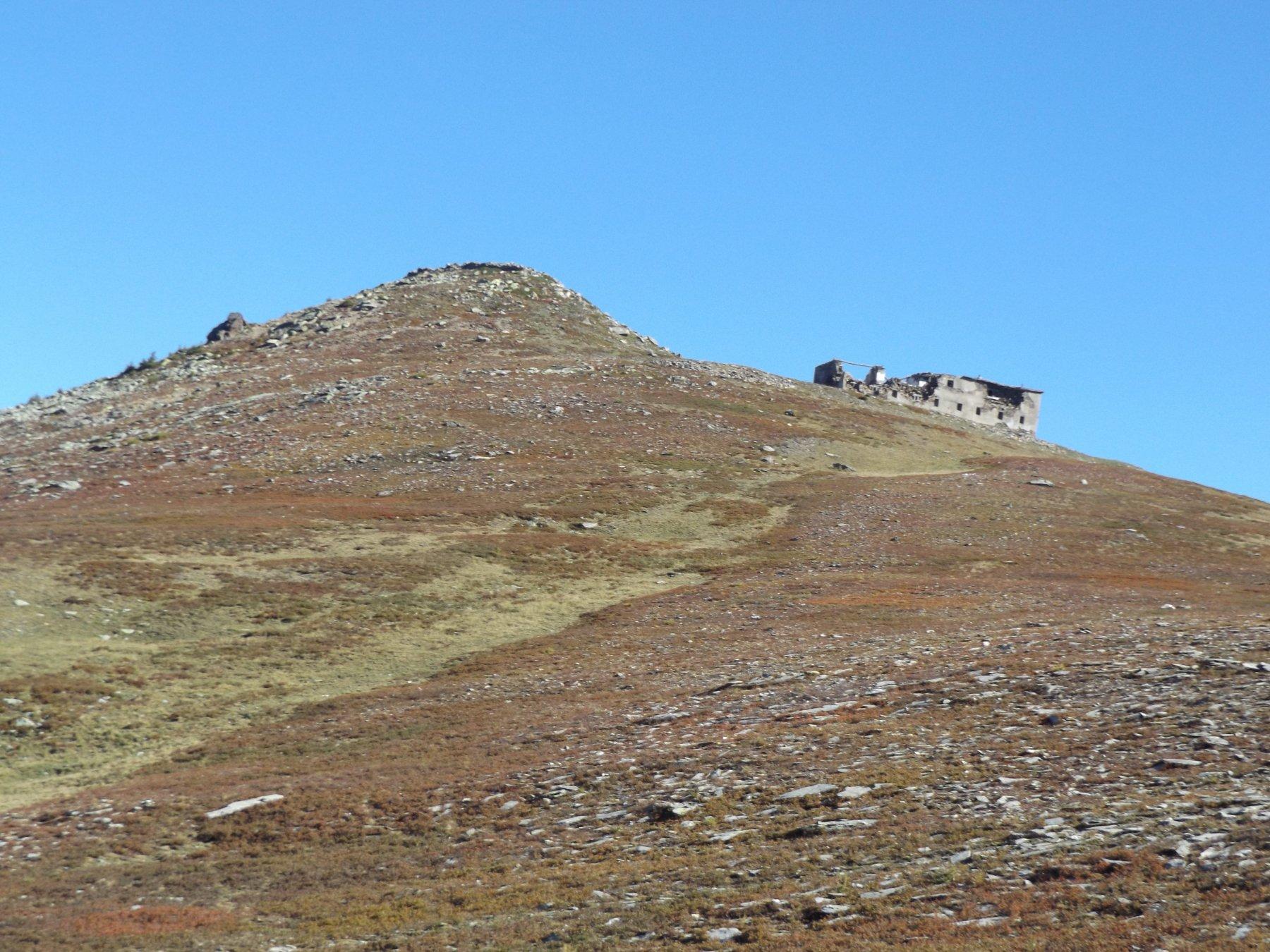 Anticima Rocca Bianca dal colle della Balma