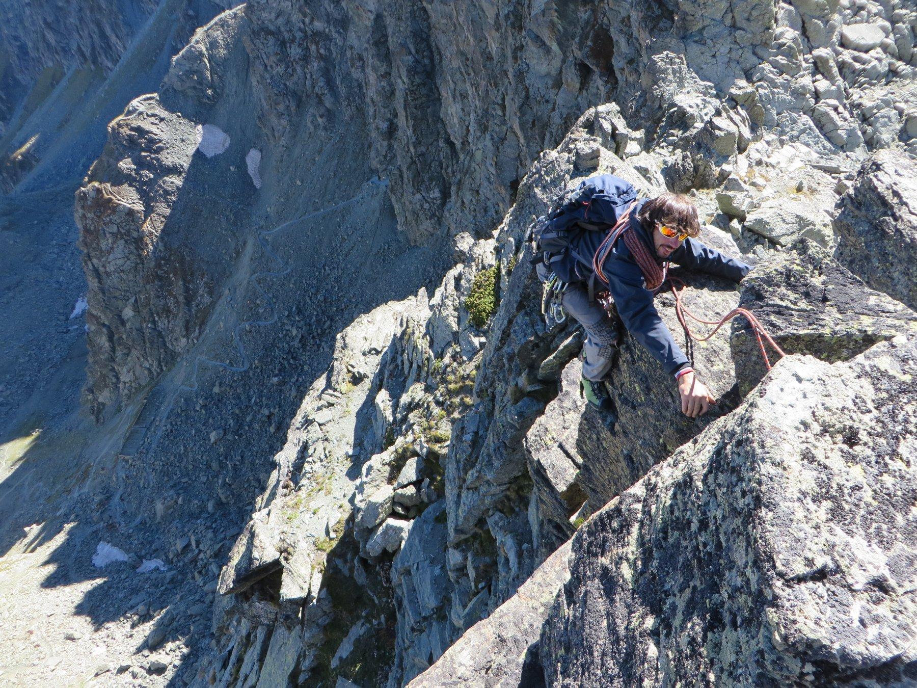 Granero (Monte) Cresta SO dalla Punta delle Traversette 2018-09-23