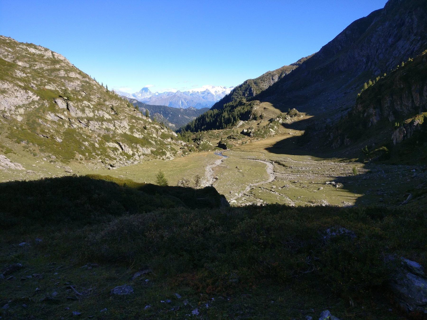 Il grande piano soto il Monte Facciabelle a quota 2050 m