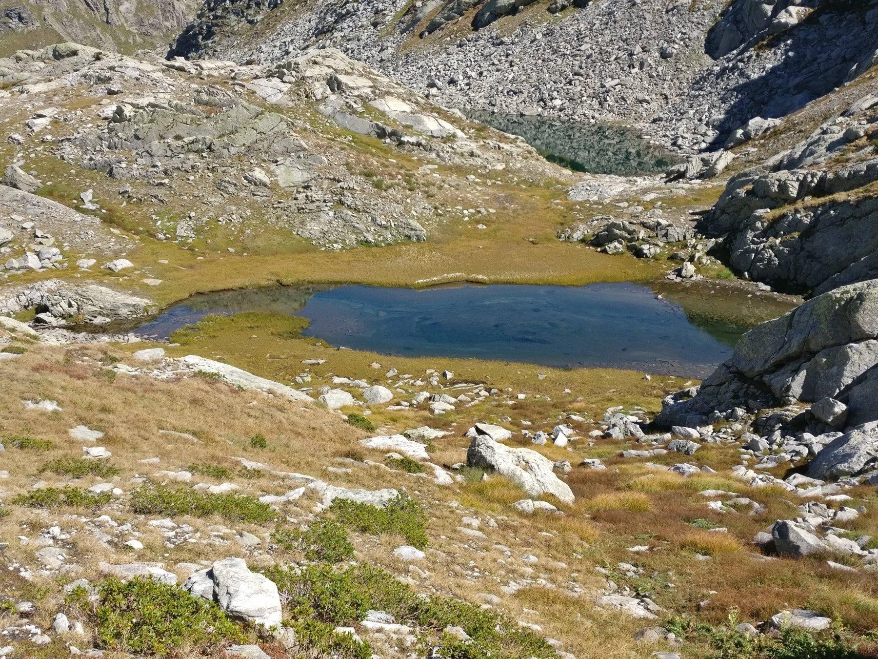 Il Lac Glace a q 2431 m