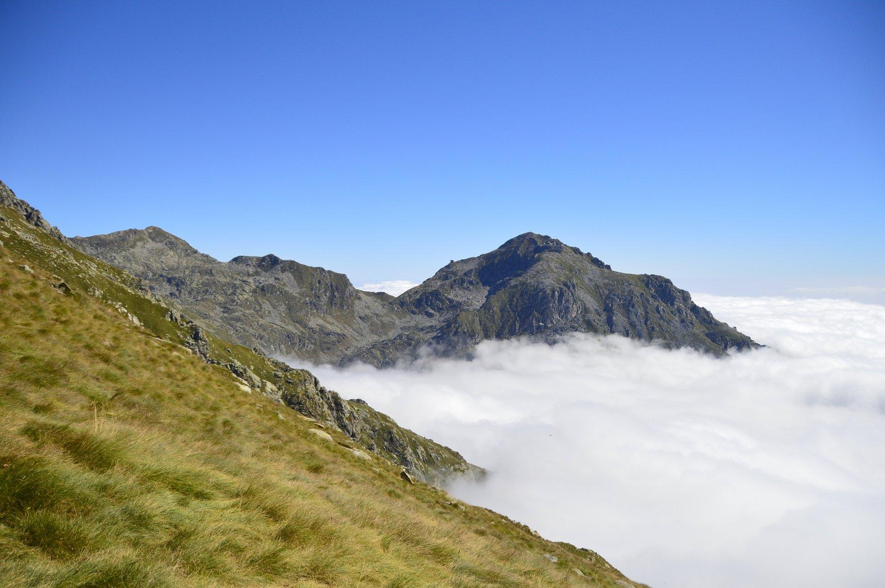Spettacolare inversione termica sul monte Mucrone