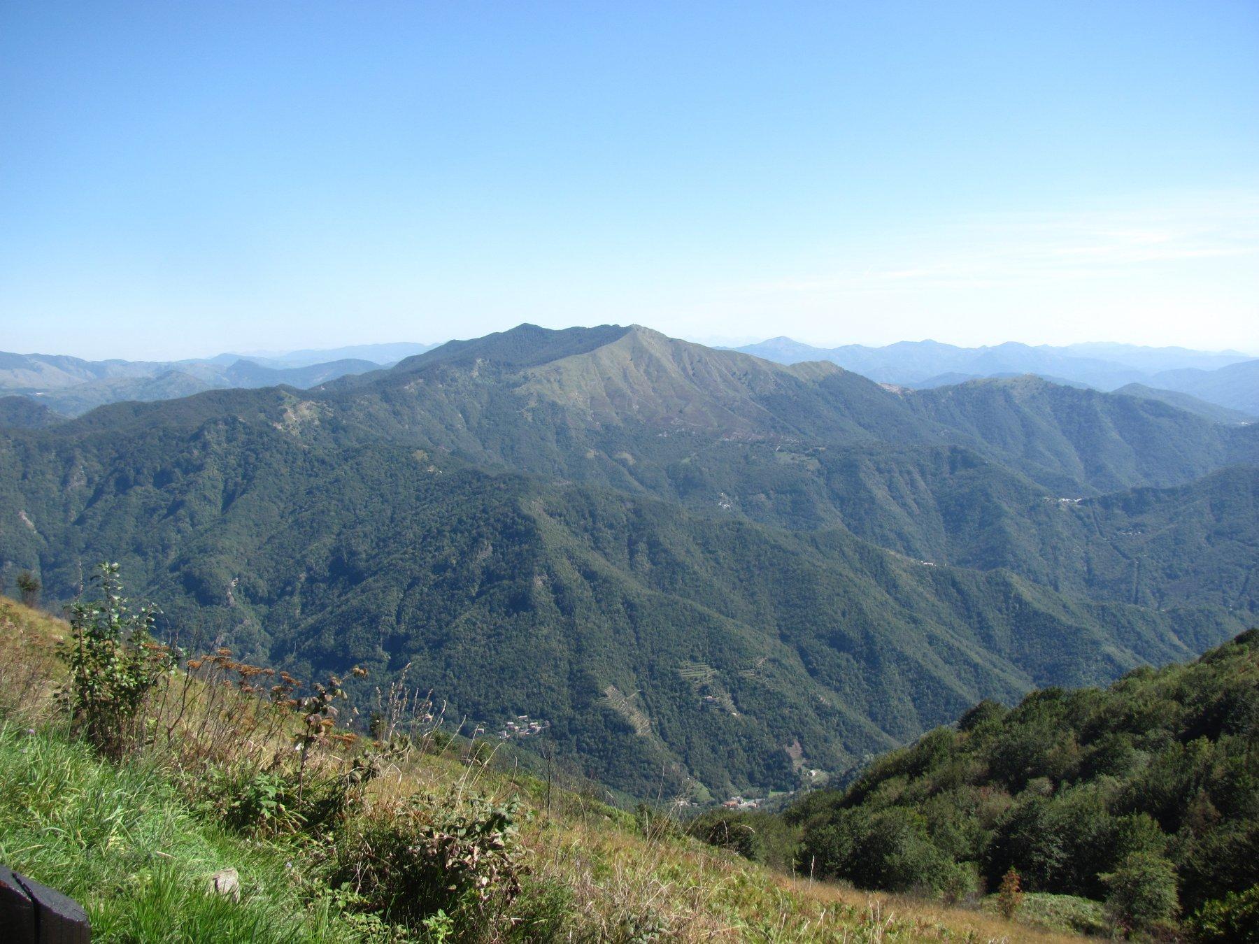 vista sul Monte Ramaceto