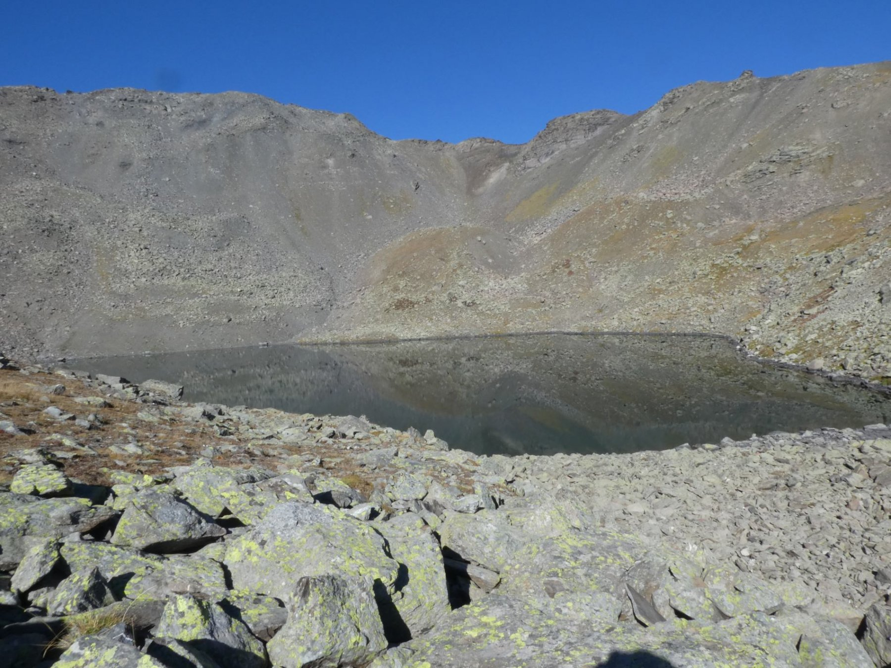 Lac Blanc e Pic du Lac Blanc sullo sfondo