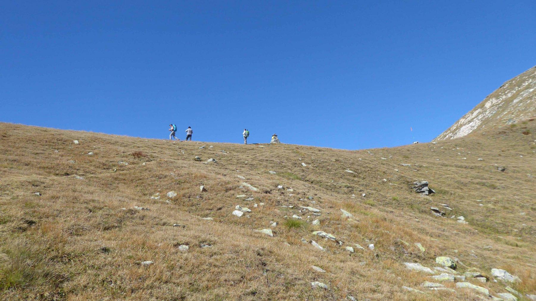 Colle Pilonet 2698 m.