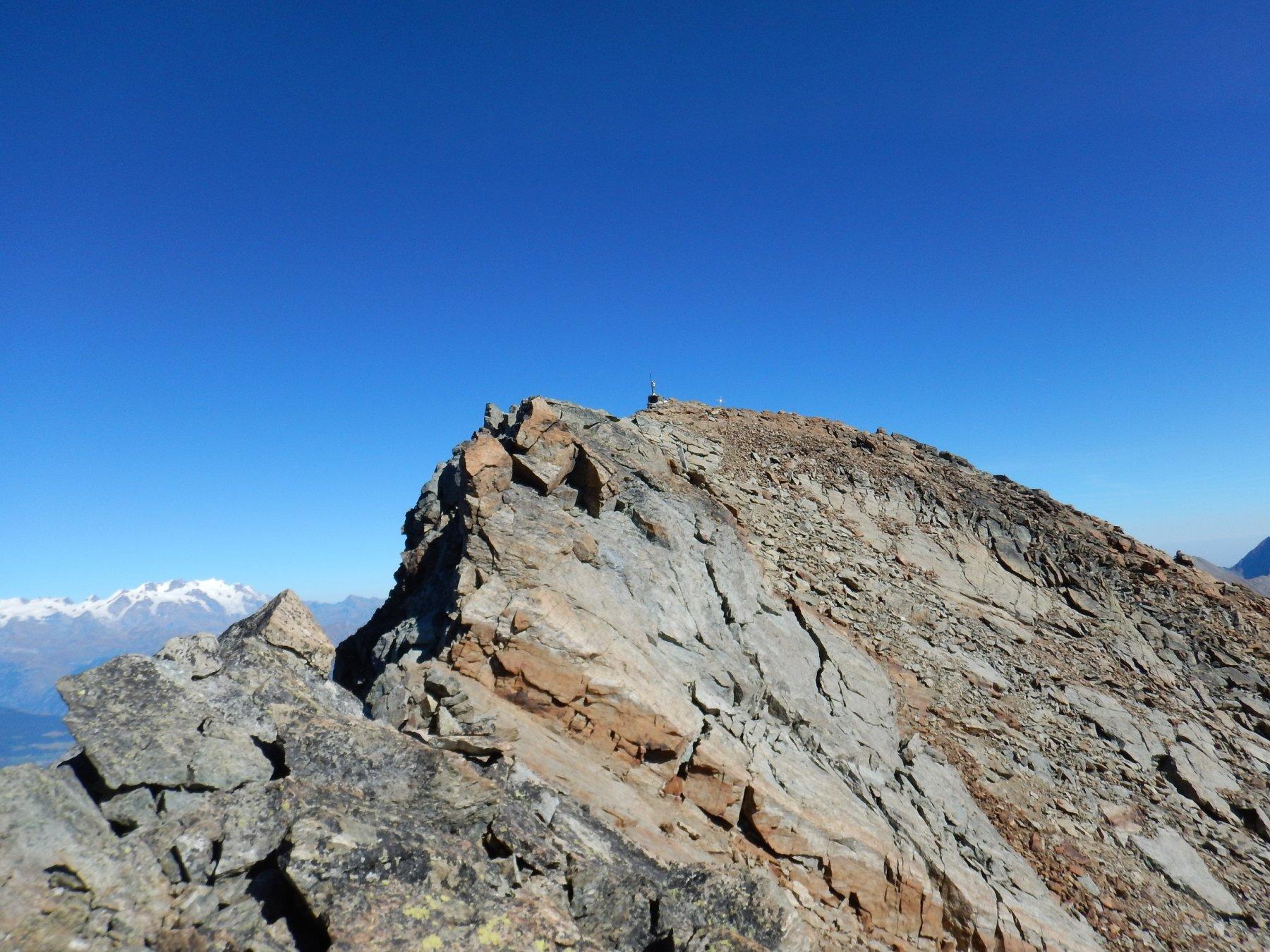 fine della ferrata e ultimi metri prima della cima