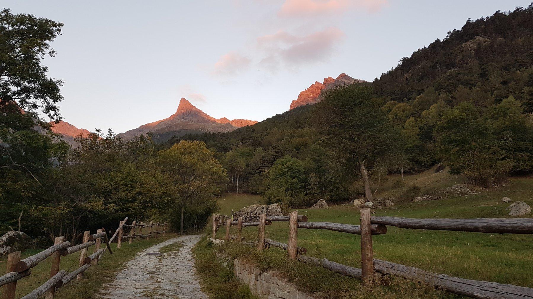 Avic (Monte) Via Normale da Villa per la Cresta Ovest 2018-09-29