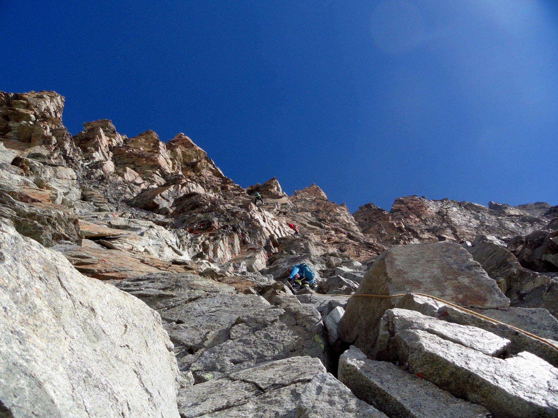 tratti di scalata