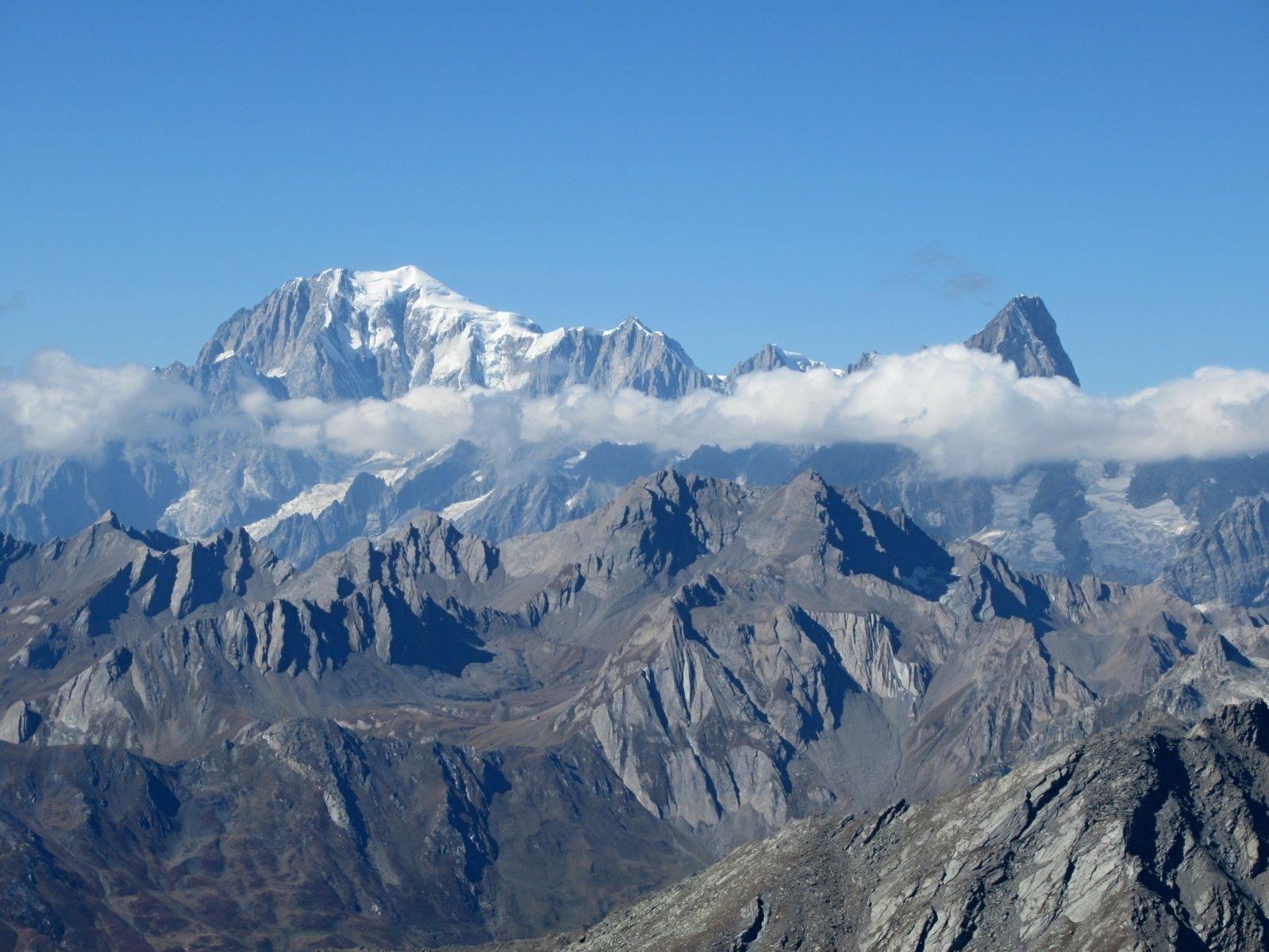 zoomata sul Monte Bianco