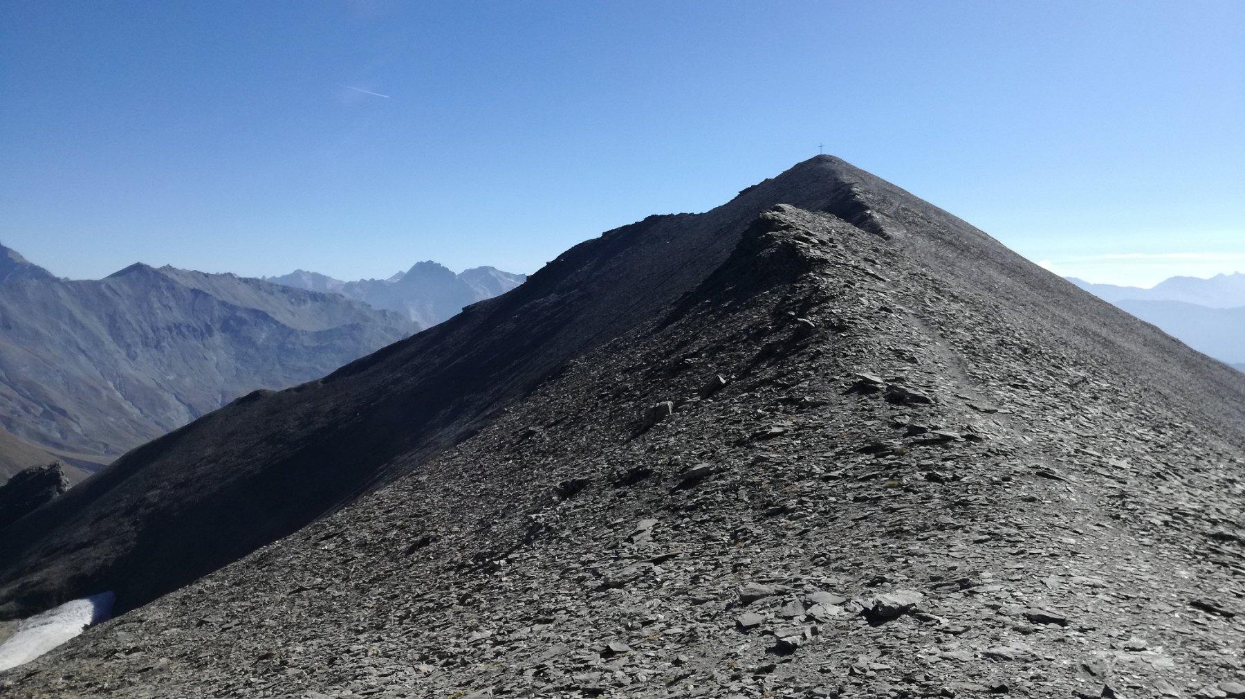 Nera (Punta) e le Grand Argentieredalla Valle del Frejus per il Colle del Frejus 2018-09-29