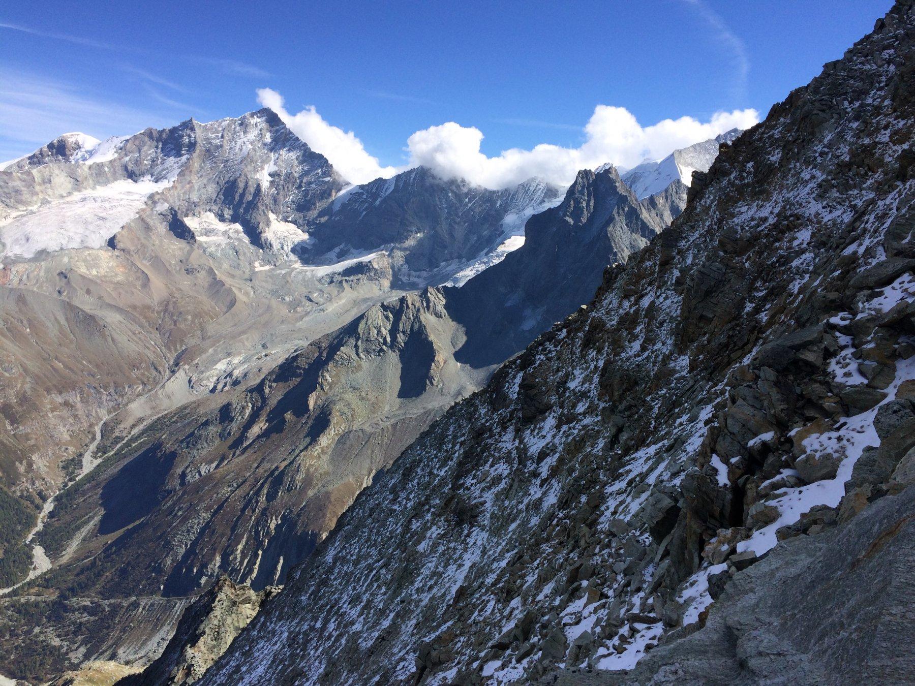 panorama dalla cresta di nord-ovest
