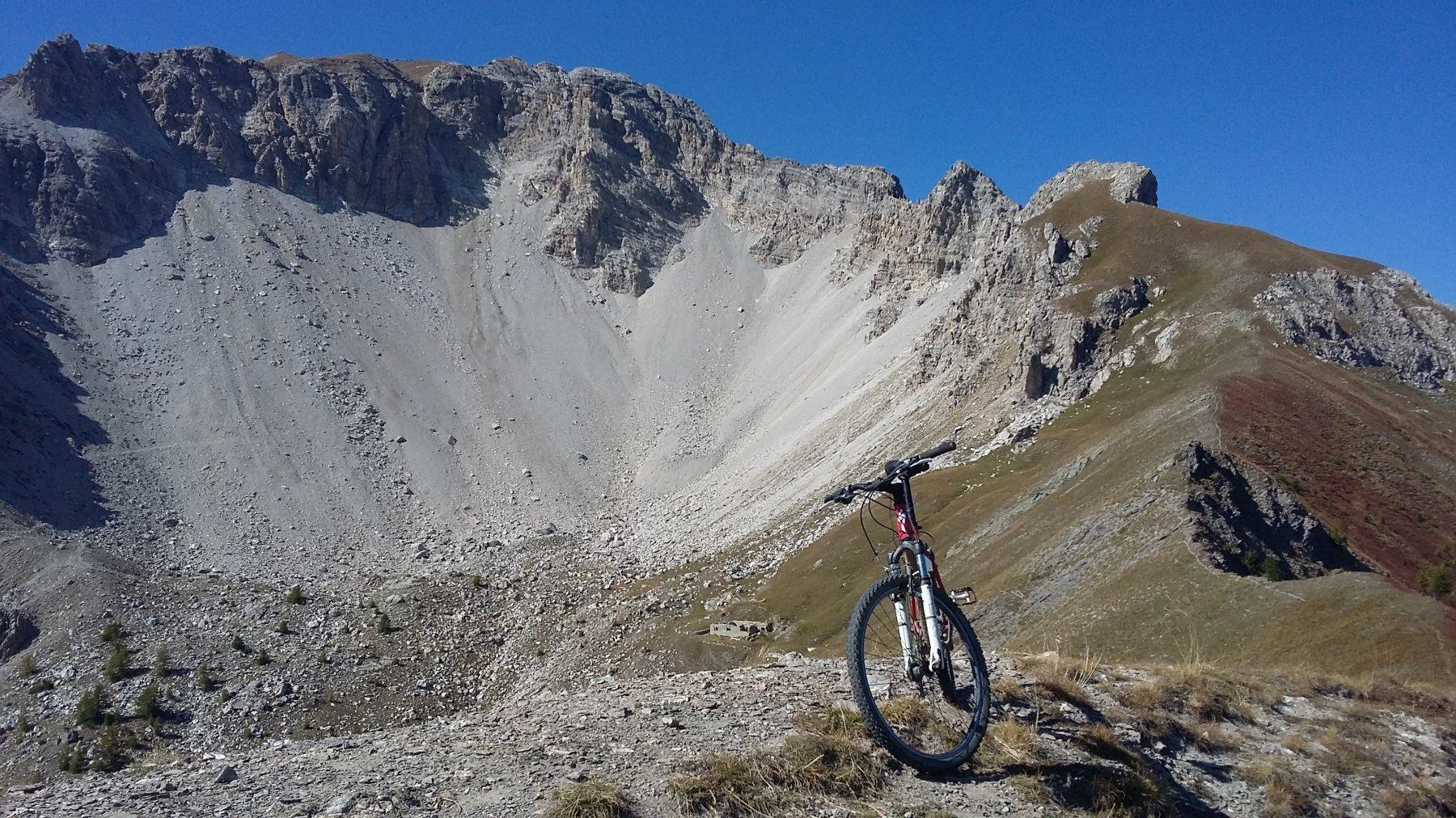 San Giuseppe (Croce) e Lago Desertes da Oulx per Madonna del Cotolivier, discesa su Desertes 2018-09-29