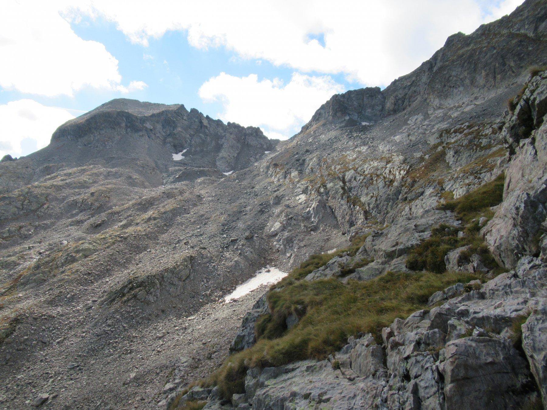 Cima Charnassere ovest dal Passo dell'Agnel