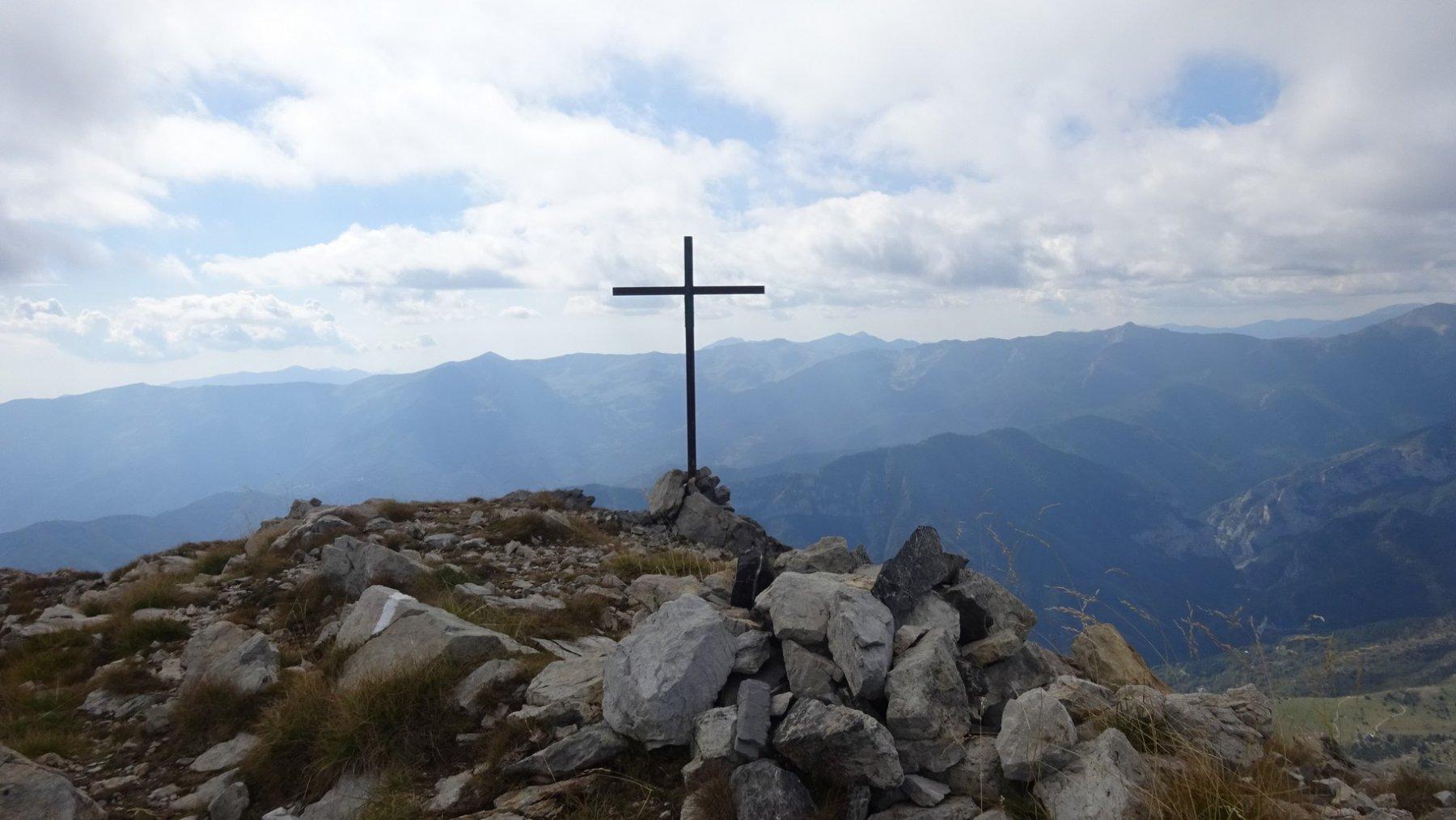 La cima del Bric Conoia
