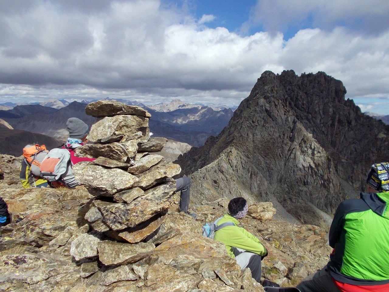 Il Monte Peiron ,dalla Testa di Garbe