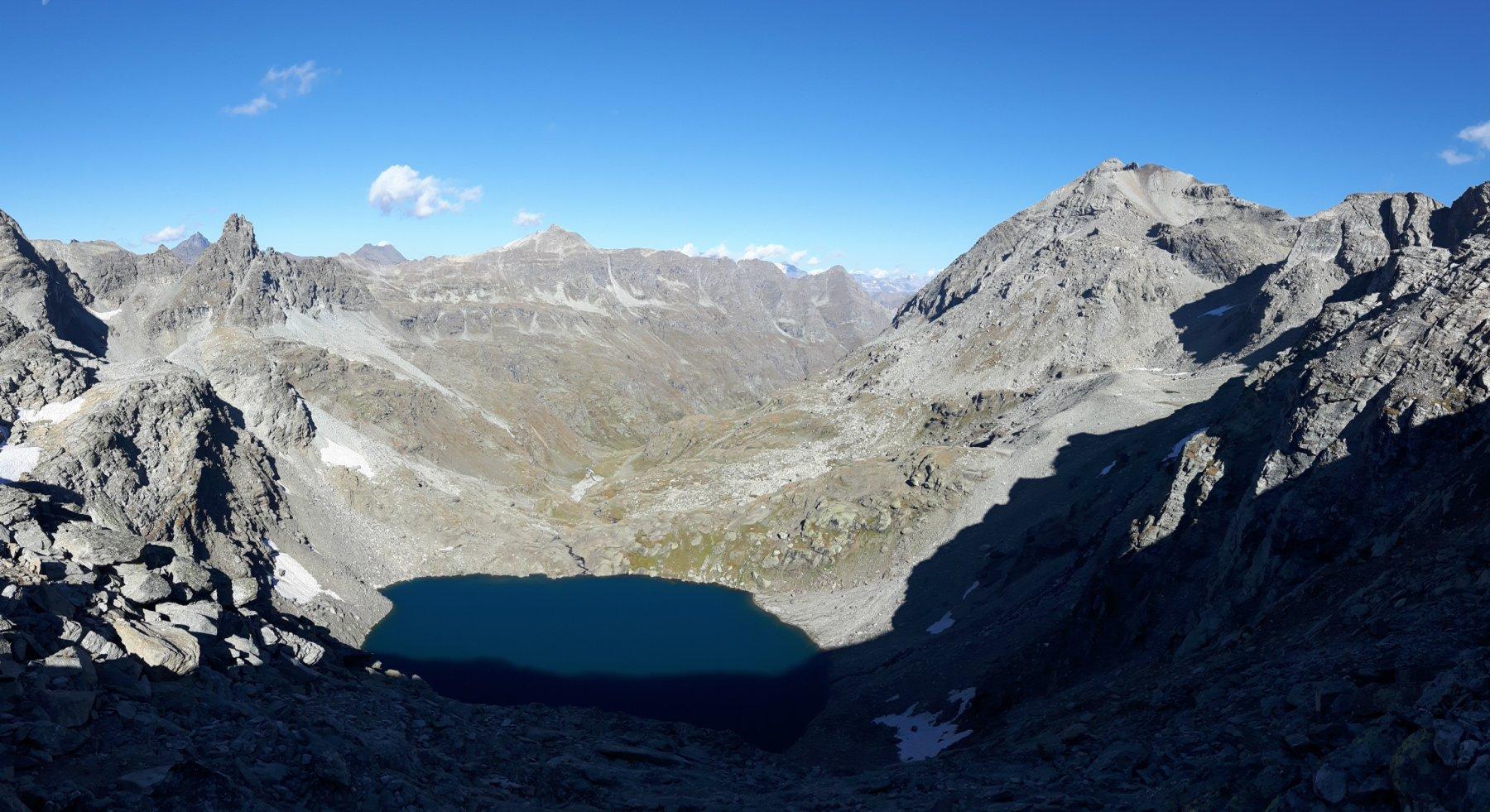 Panoramica verso il Lac d'Ambin.