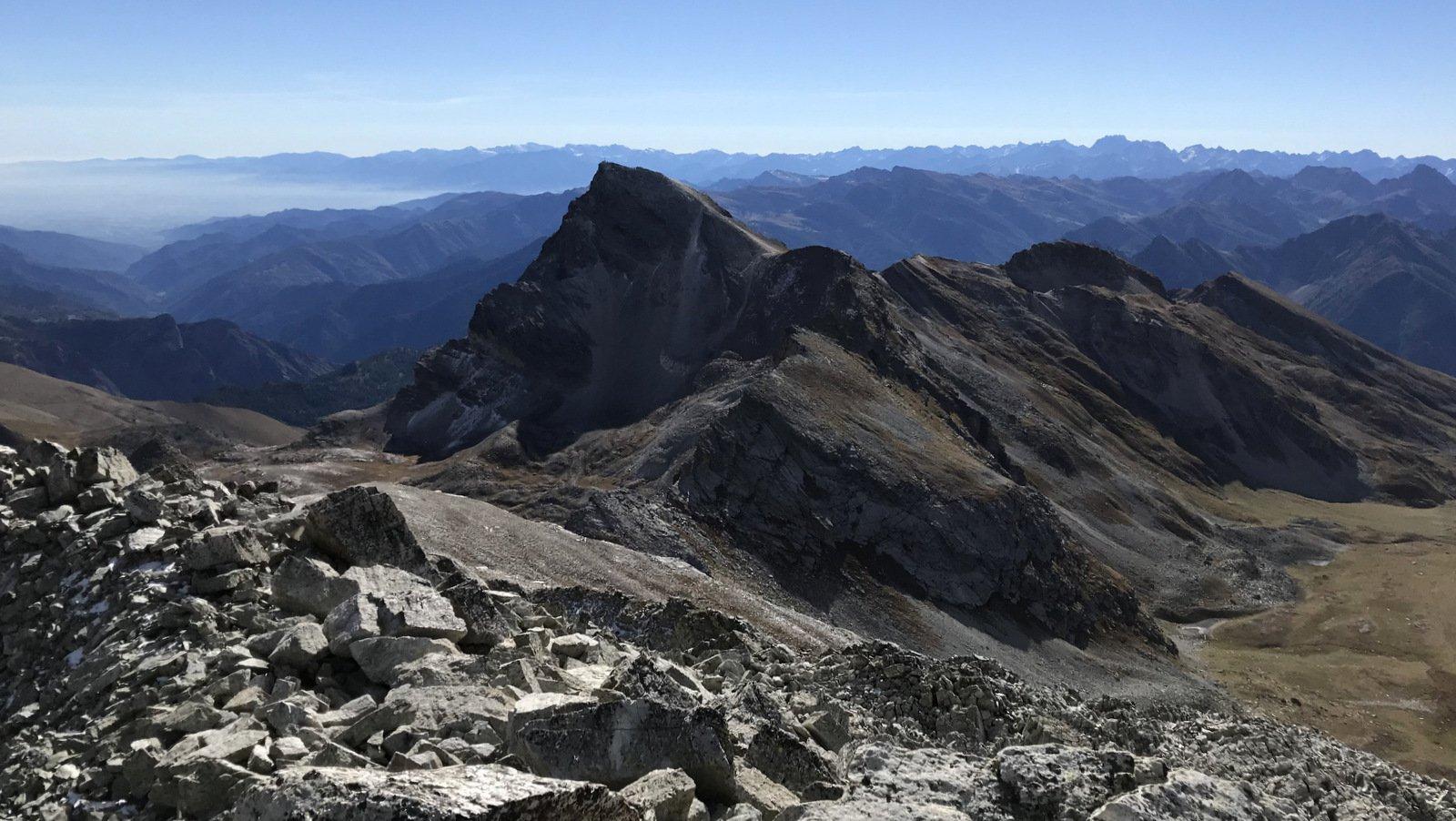 Vista dalla vetta : Chersogno