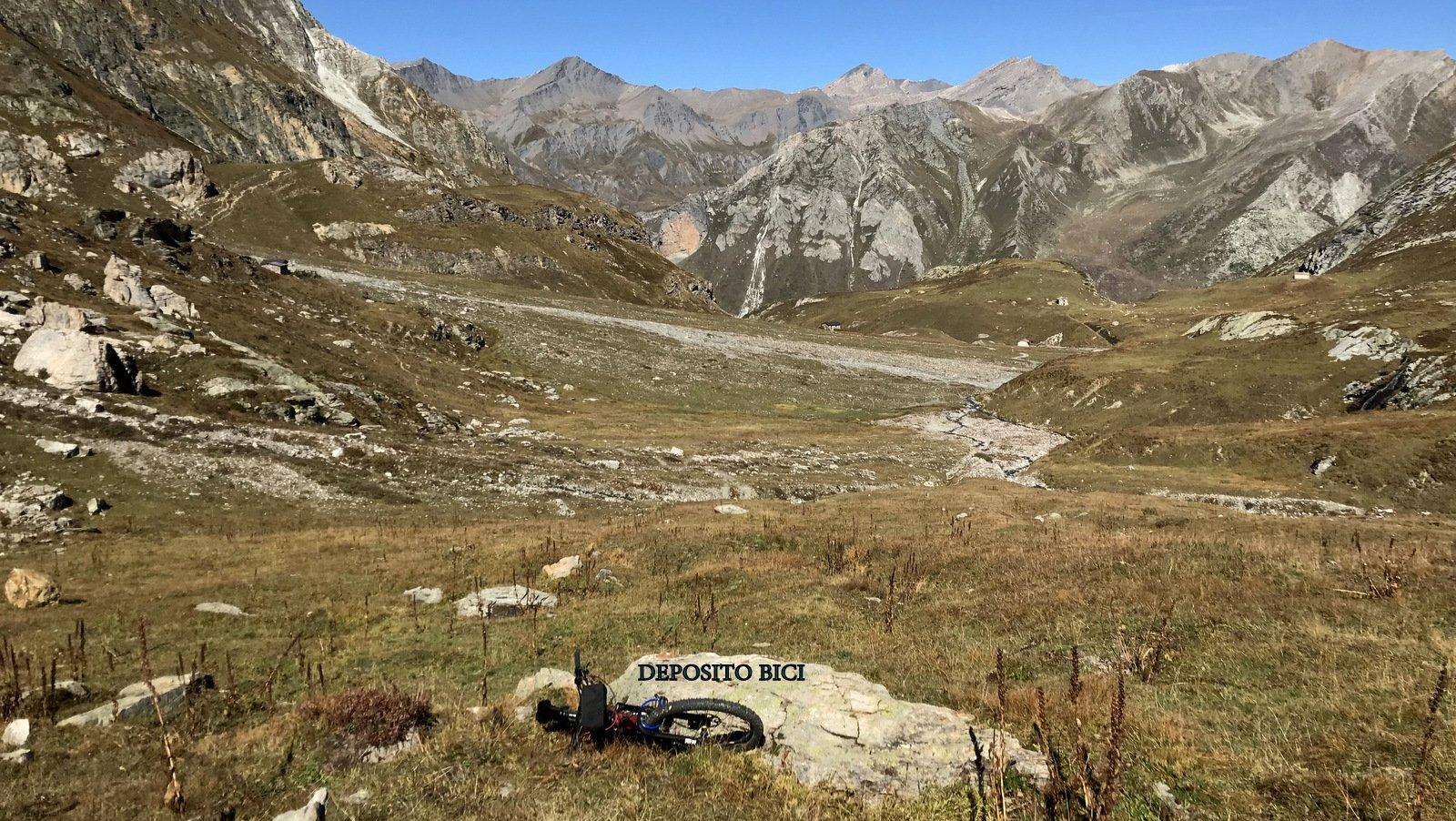 Deposito bici a 2400 mt