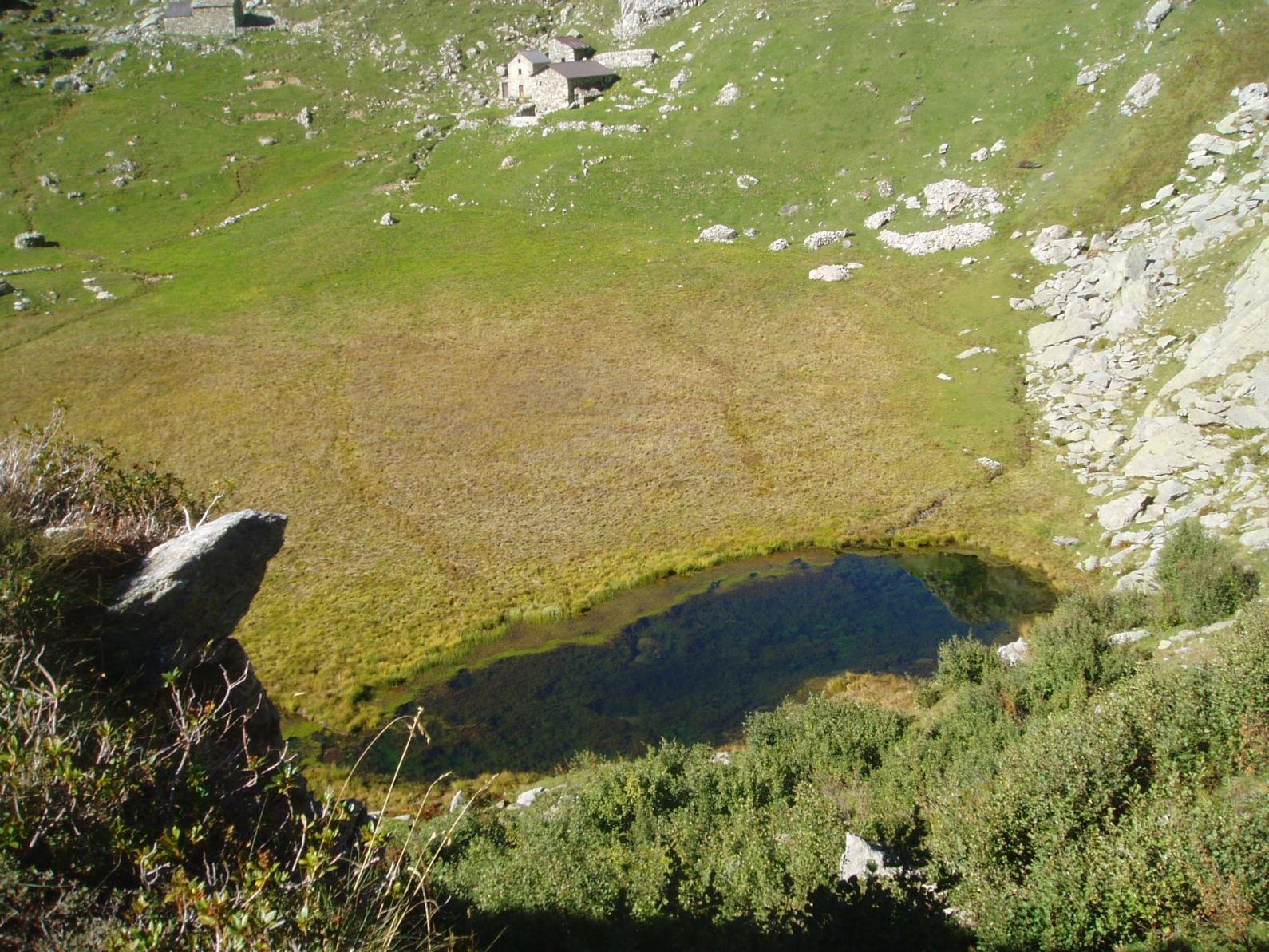 Lago del Mombarone.