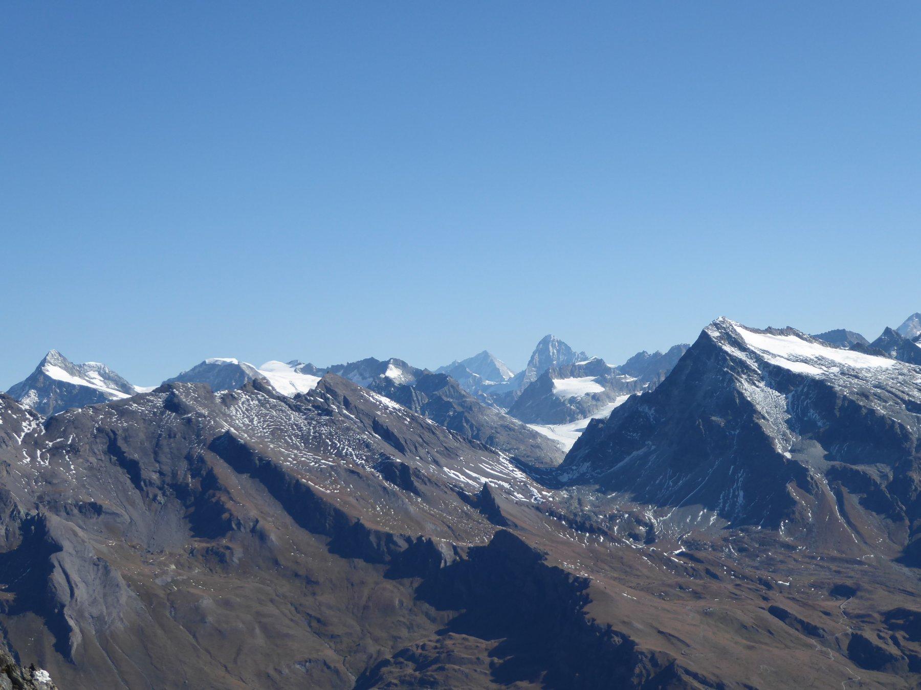 dalla cima: la fenetre Durand tra l'Avril e il Gelè
