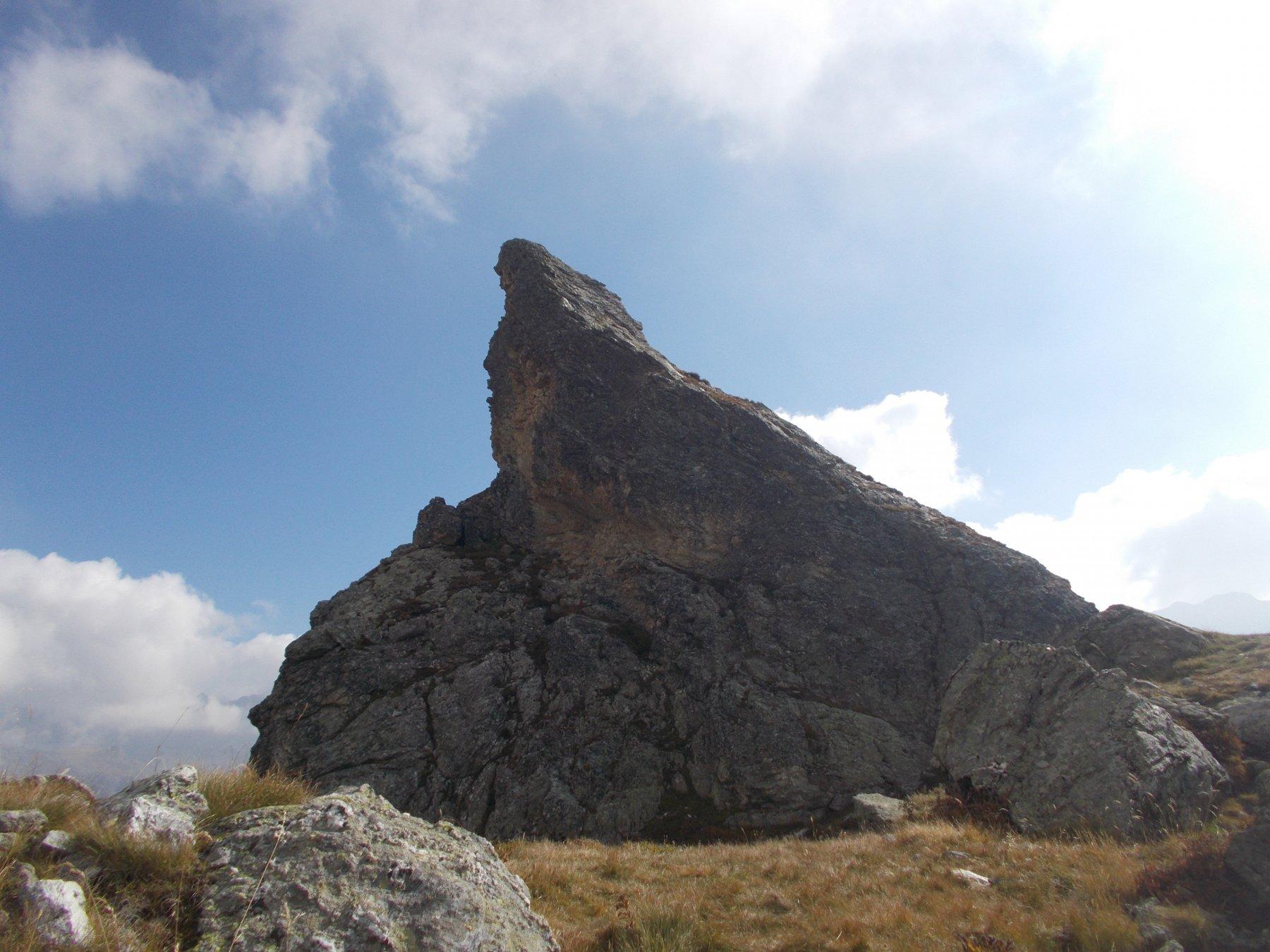 la rocca..dal vallone del Rui..