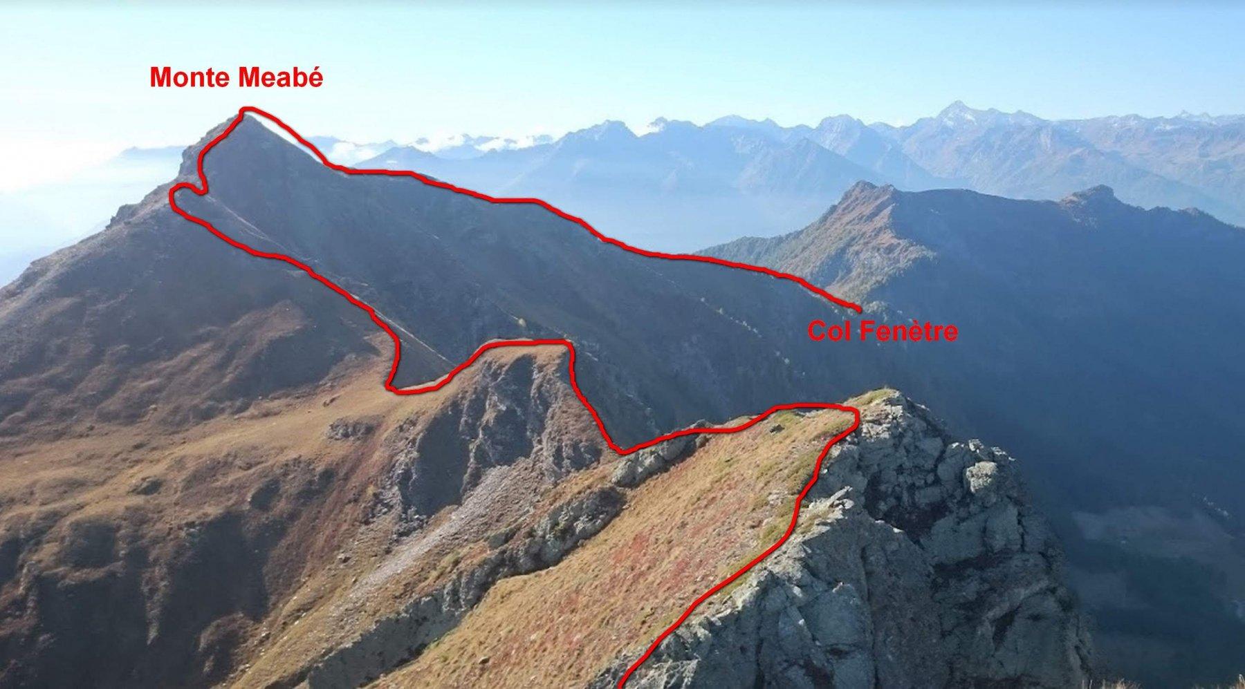Cresta dal Monte Miracolo