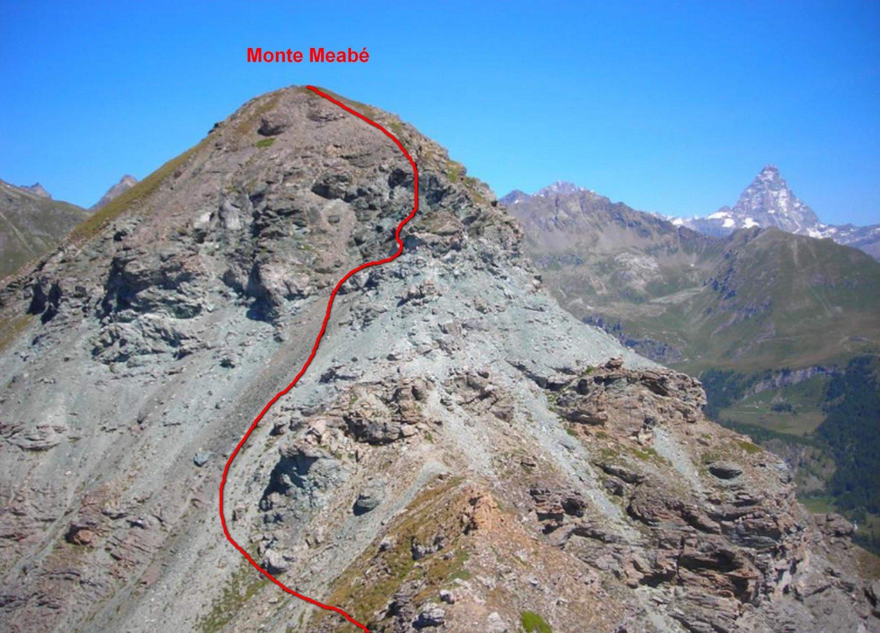 Salita monte Meabé