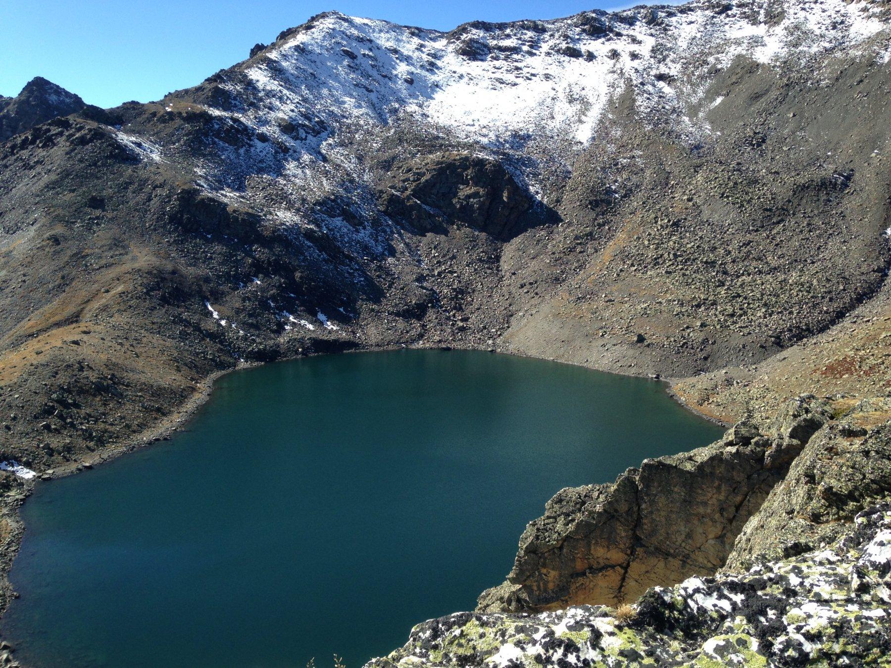 Vista verso il Pic du Lac Blanc