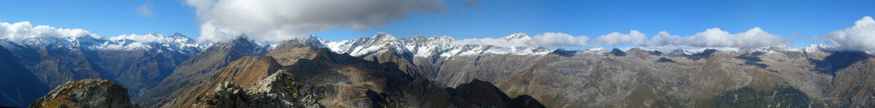 Panorama dal Doubia
