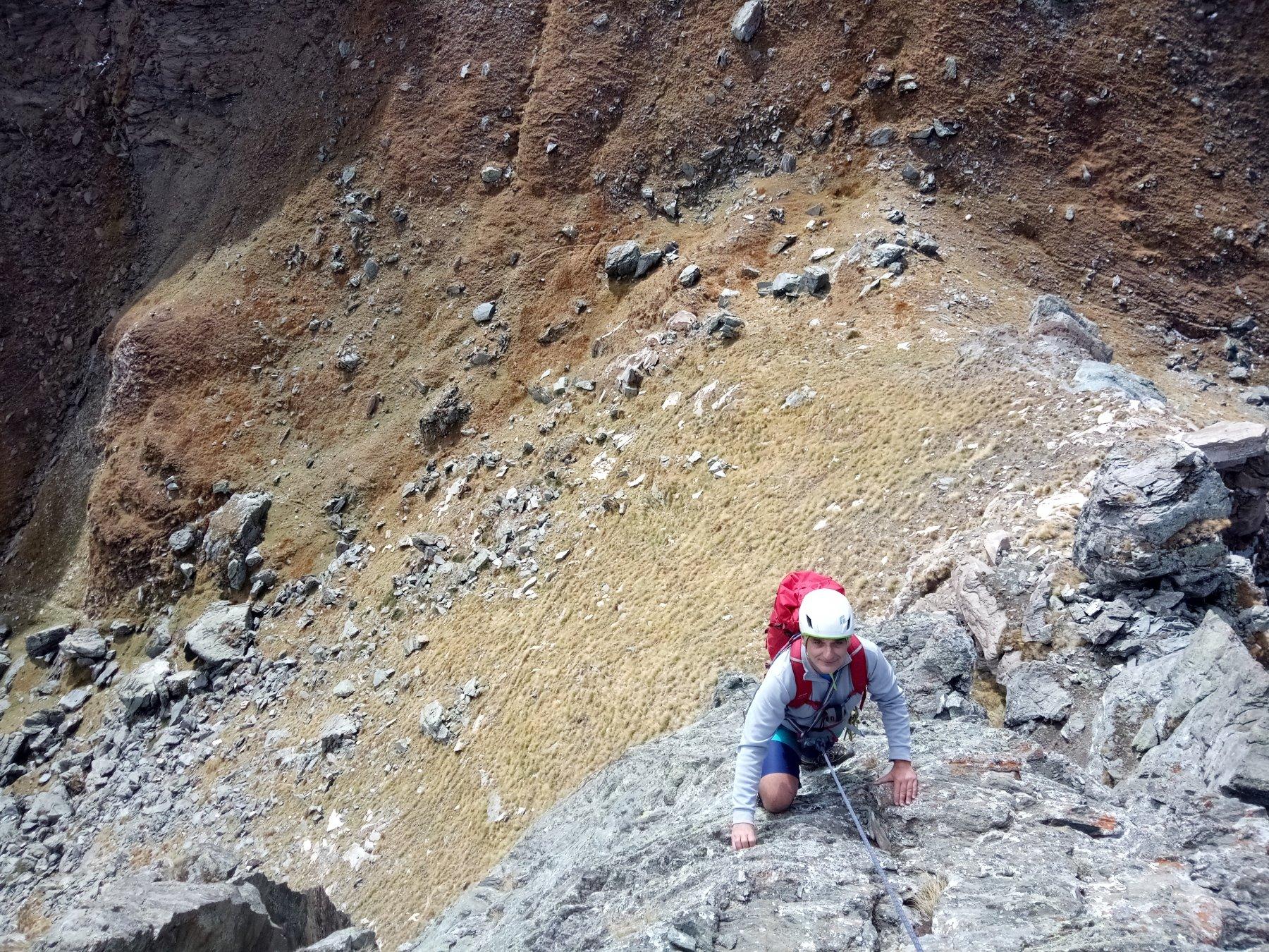 Villano (Punta il) Cresta SO o Accademica da Travers a Mont 2018-10-13