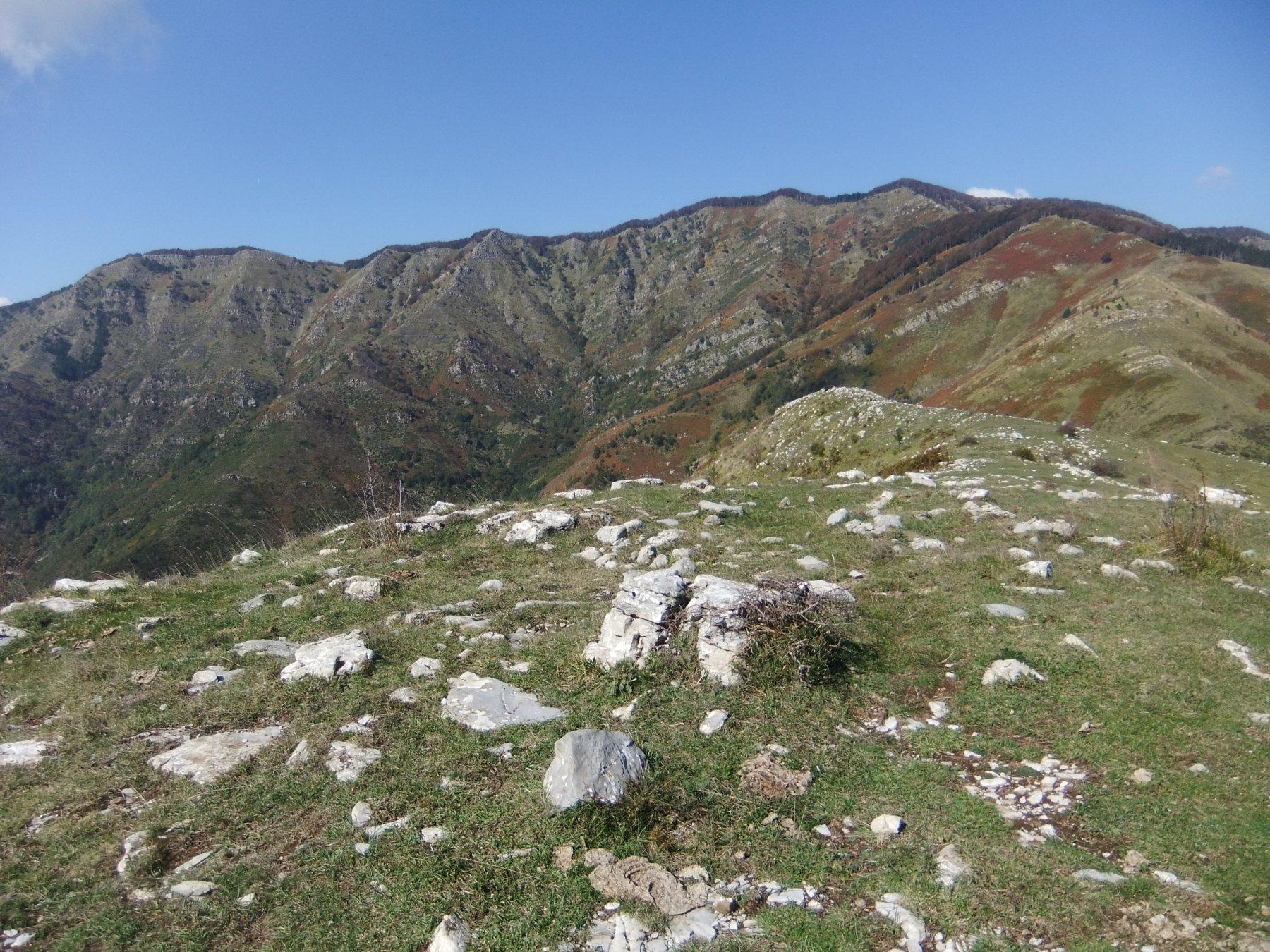 Lo Zatta visto dal Monte Coppello