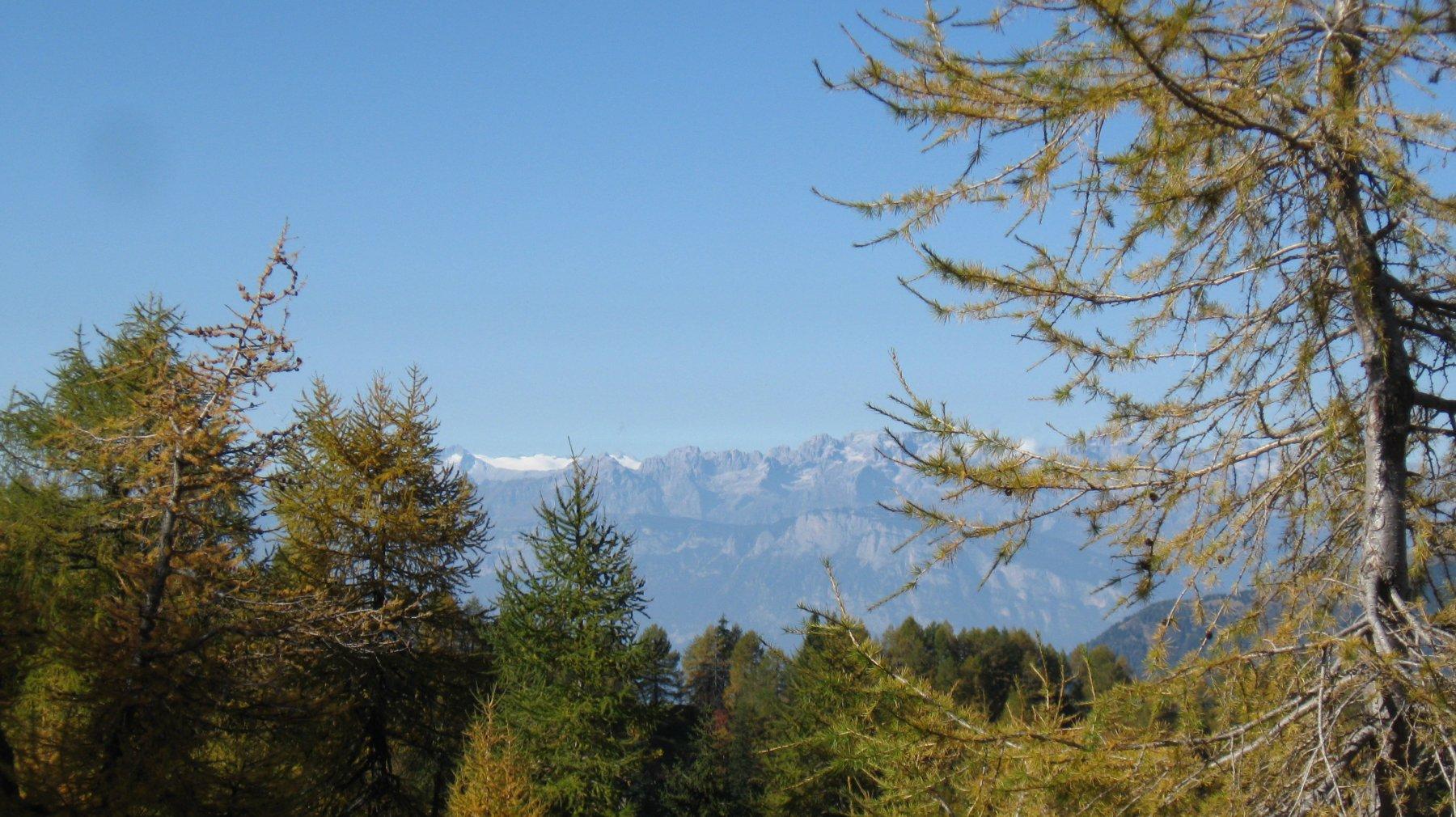 verso le Dolomiti di Brenta e il Carè Alto