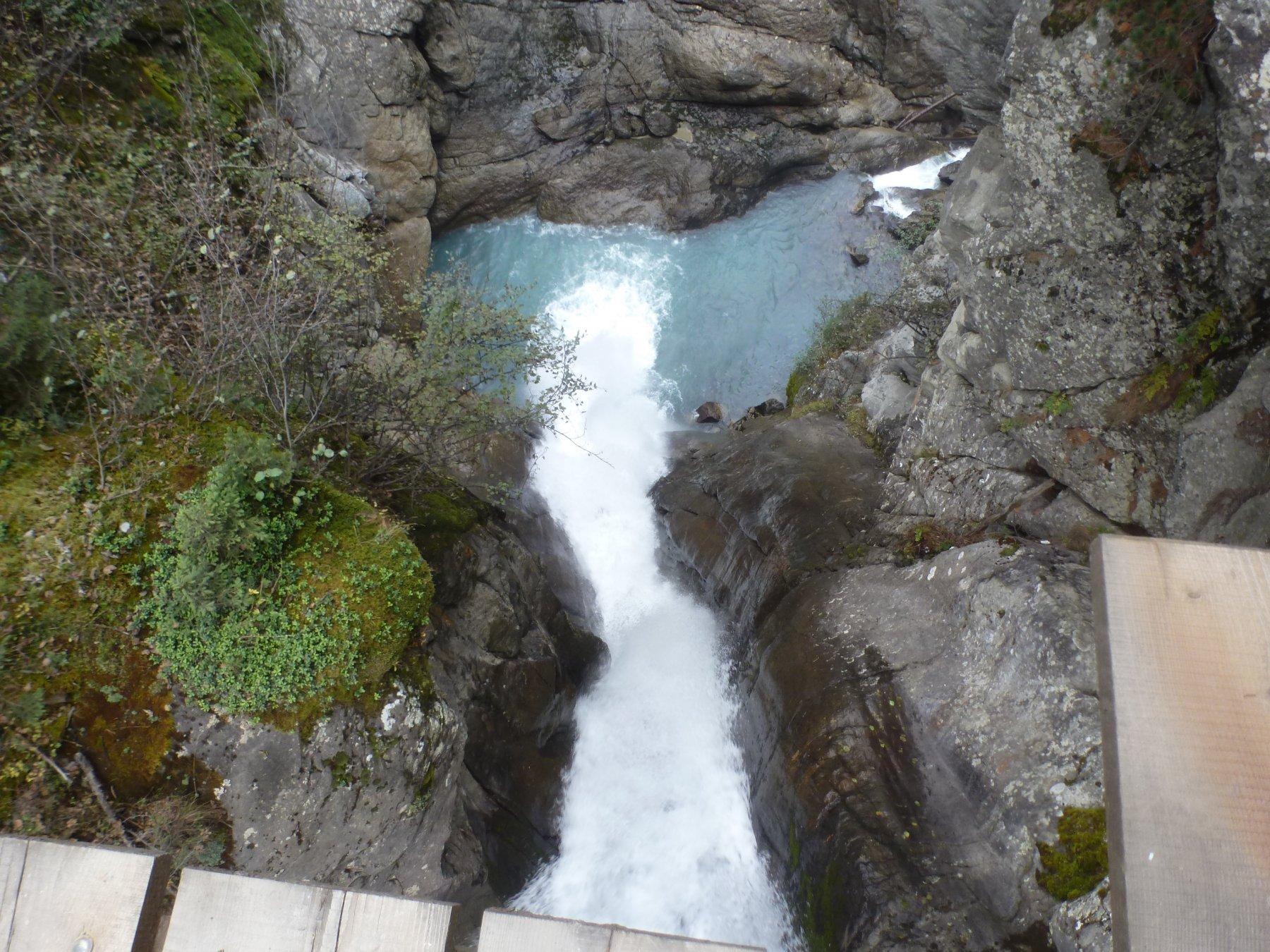 prima cascata dall'alto