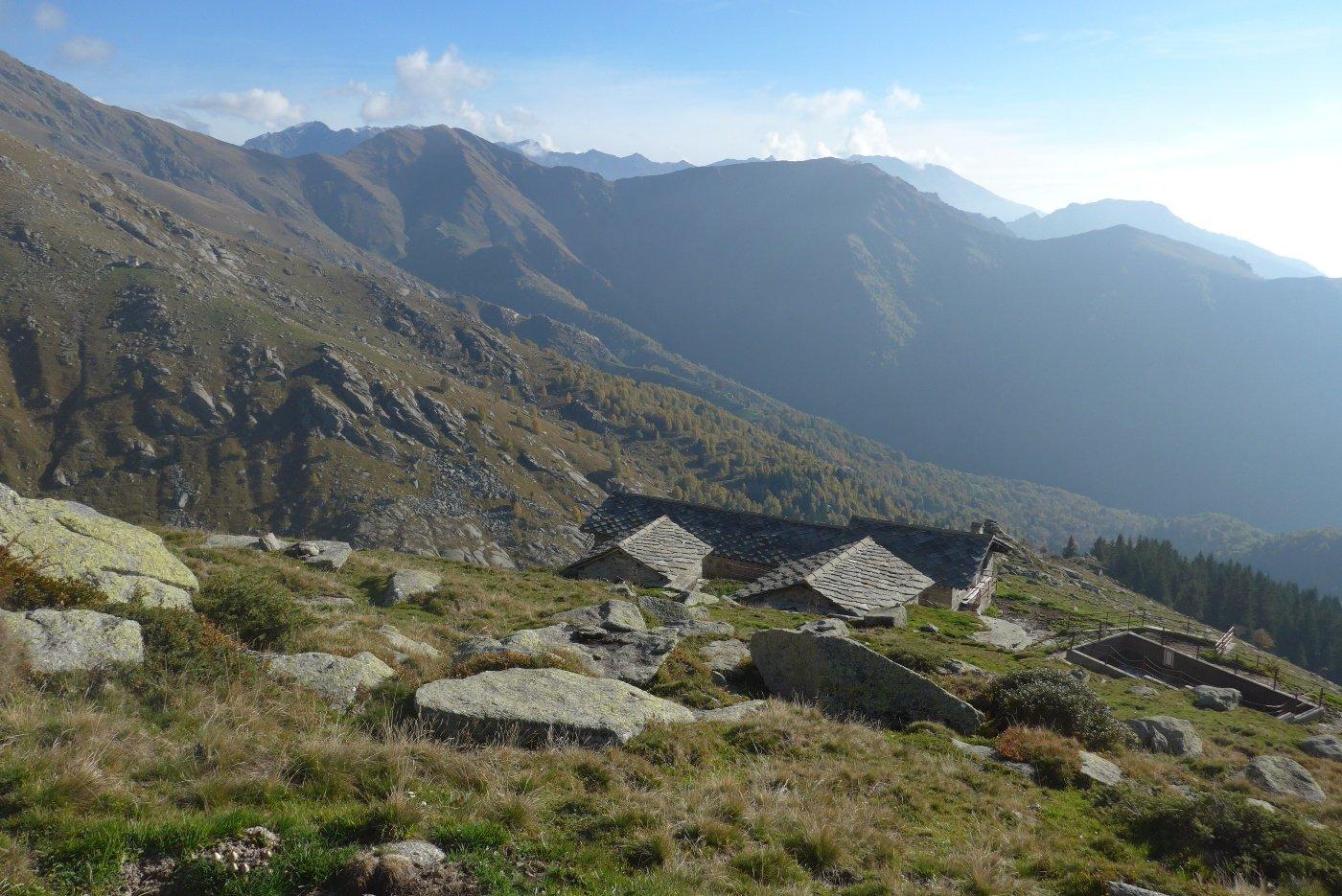 Sopra l'Alpe Colletto