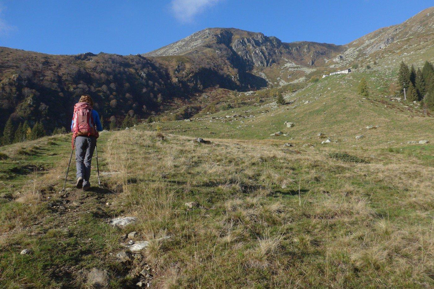 Verso l'Alpe l'Oregge