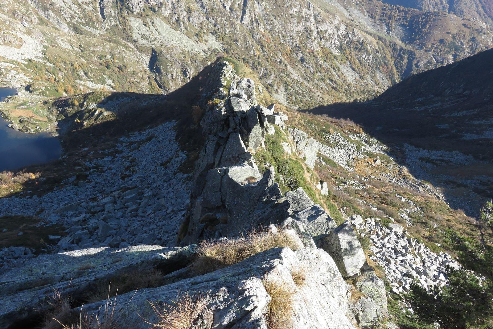 Cresto (Monte) traversata Cresta NE (Canabà) - Passo delle Tote, da Piedicavallo 2018-10-19