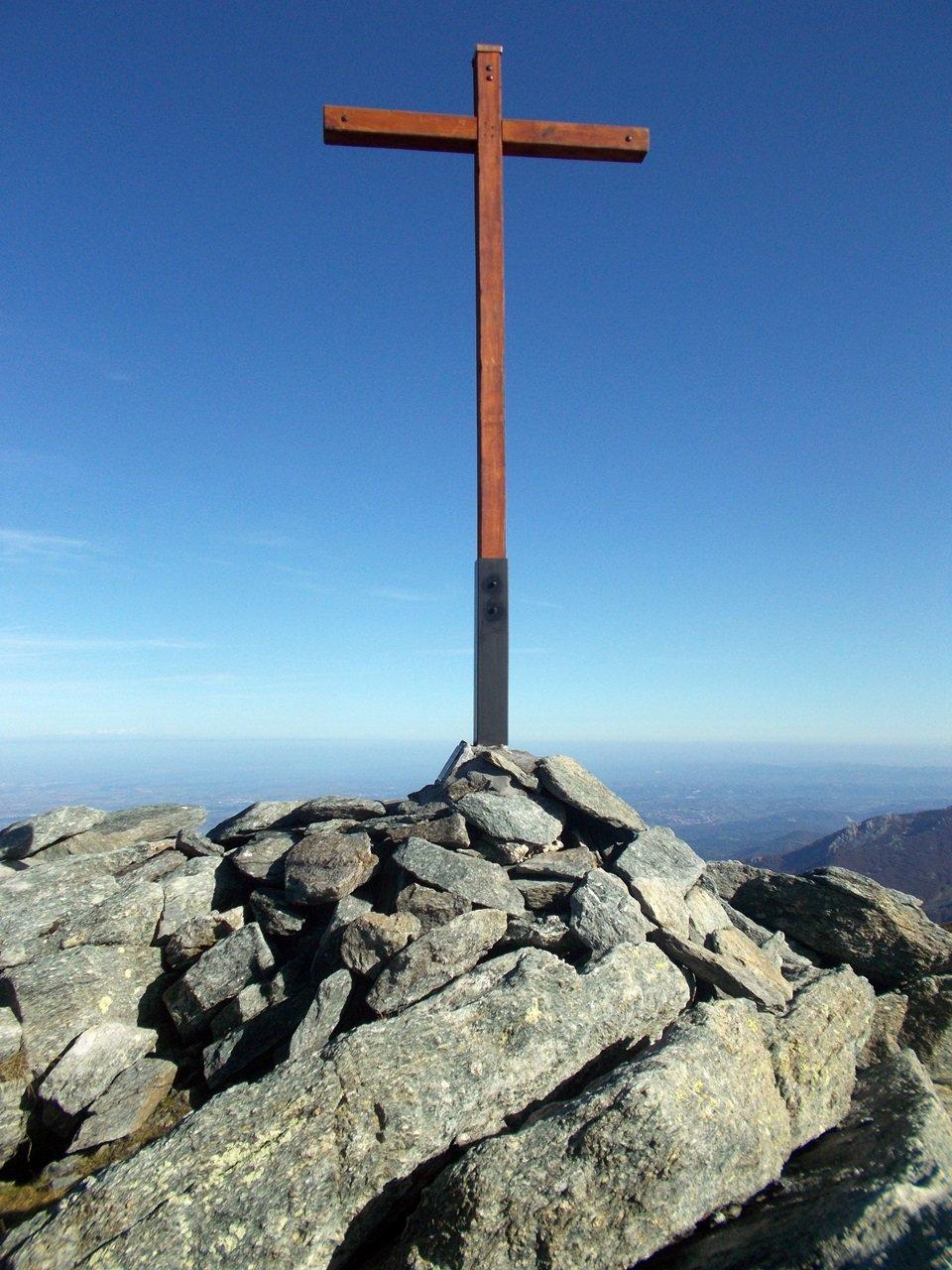 la nuova croce sulla Durand