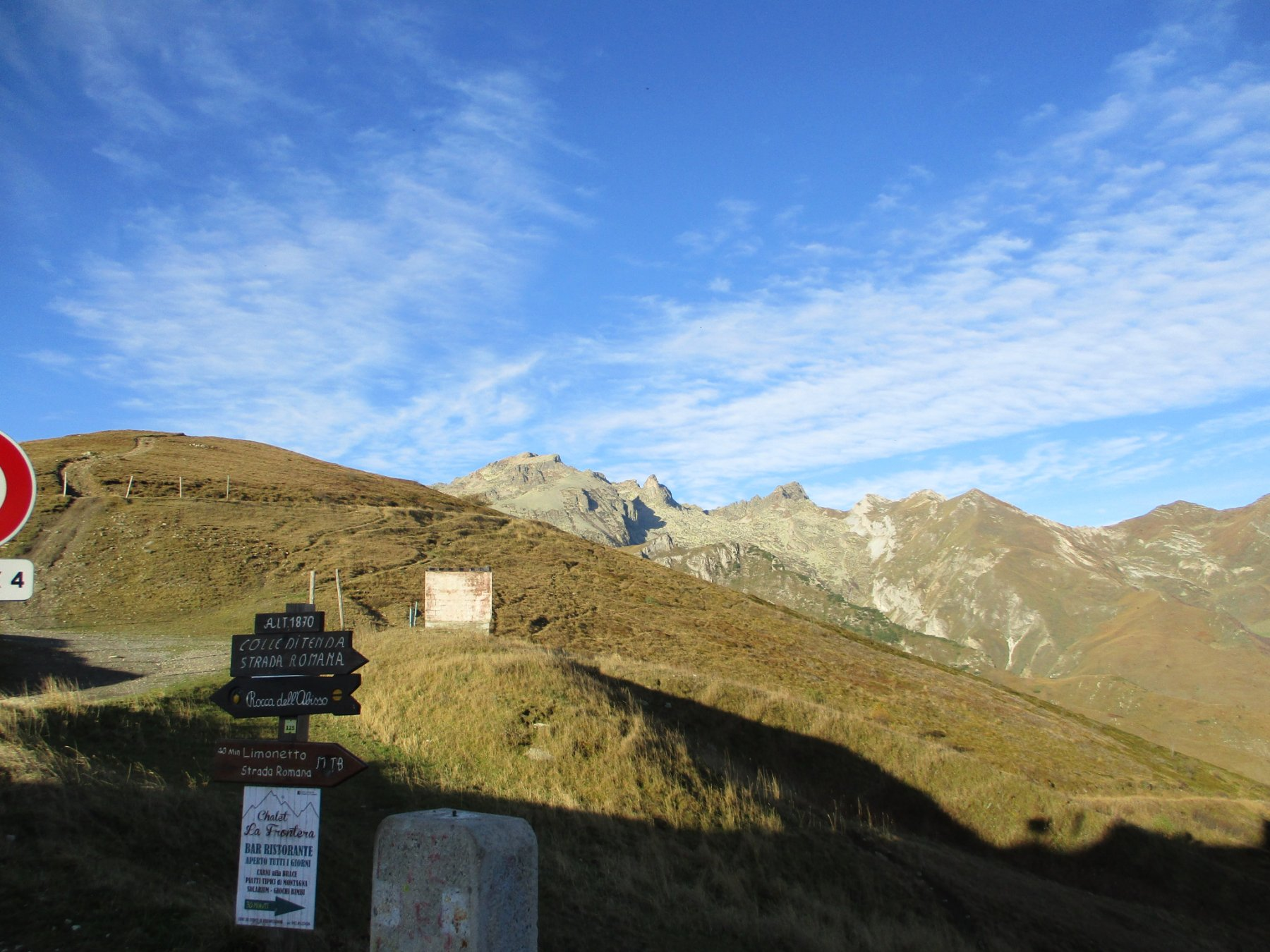 Vista dal Colle di Tenda