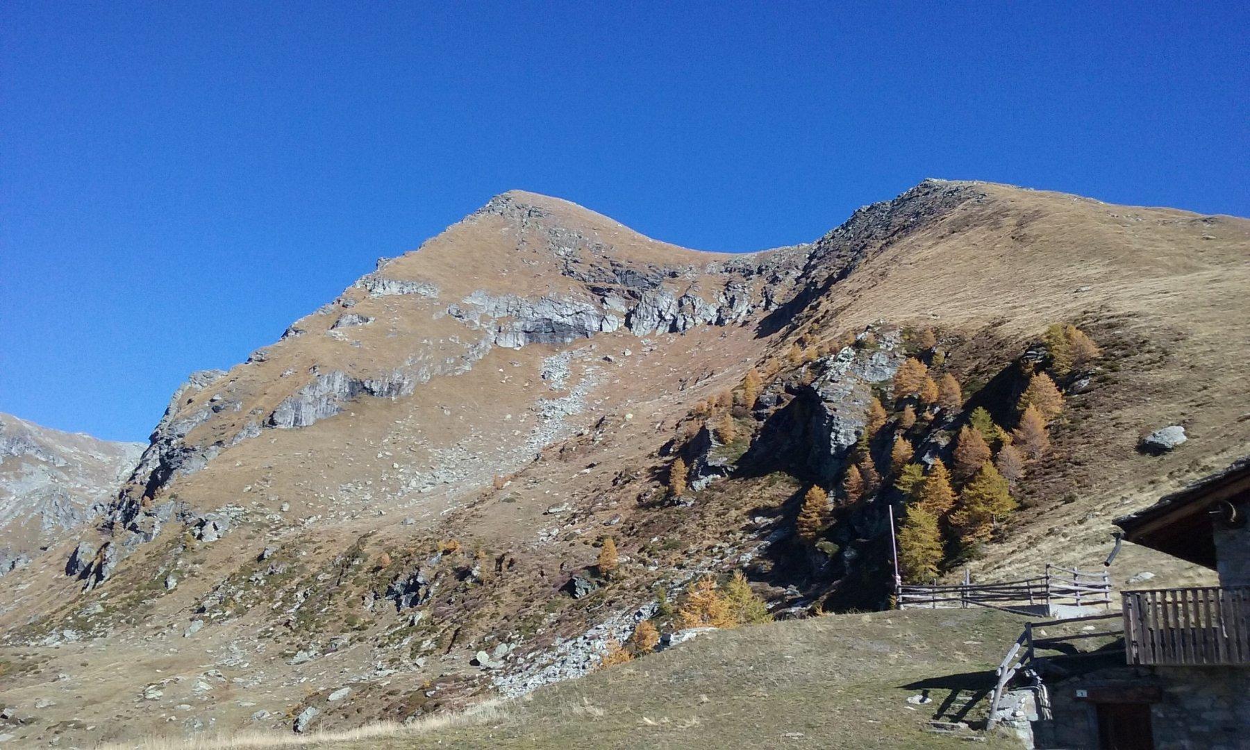 Anticima e cima dall'Alpe Litteran