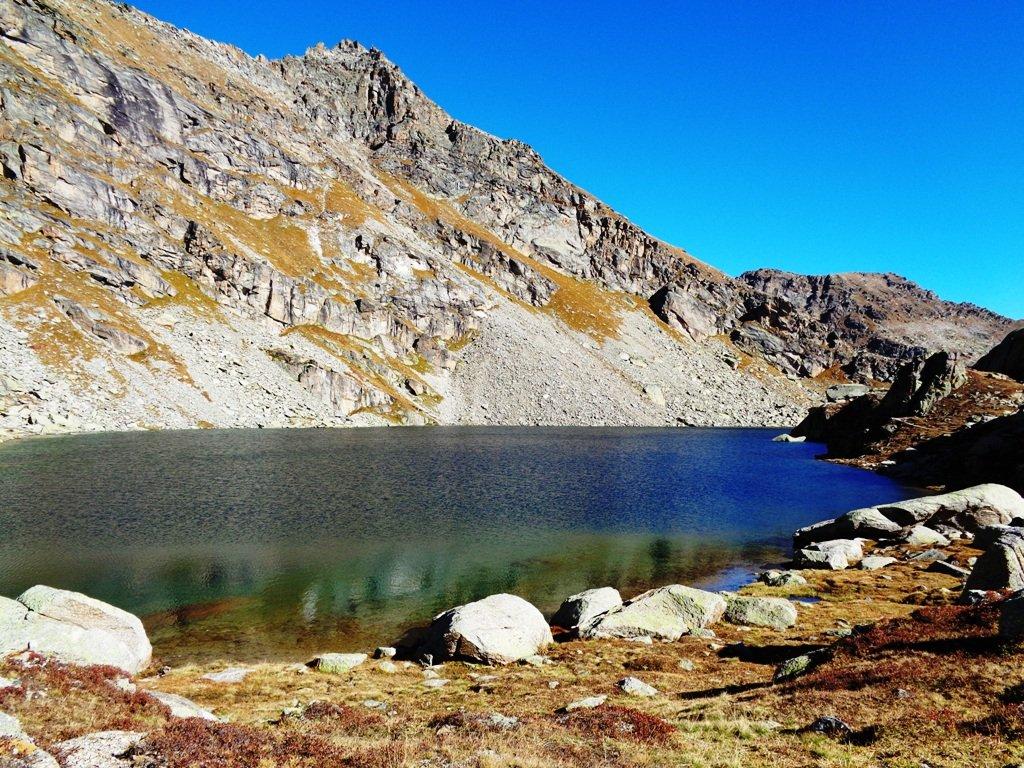 Monte e Gran Lago di Unghiasse