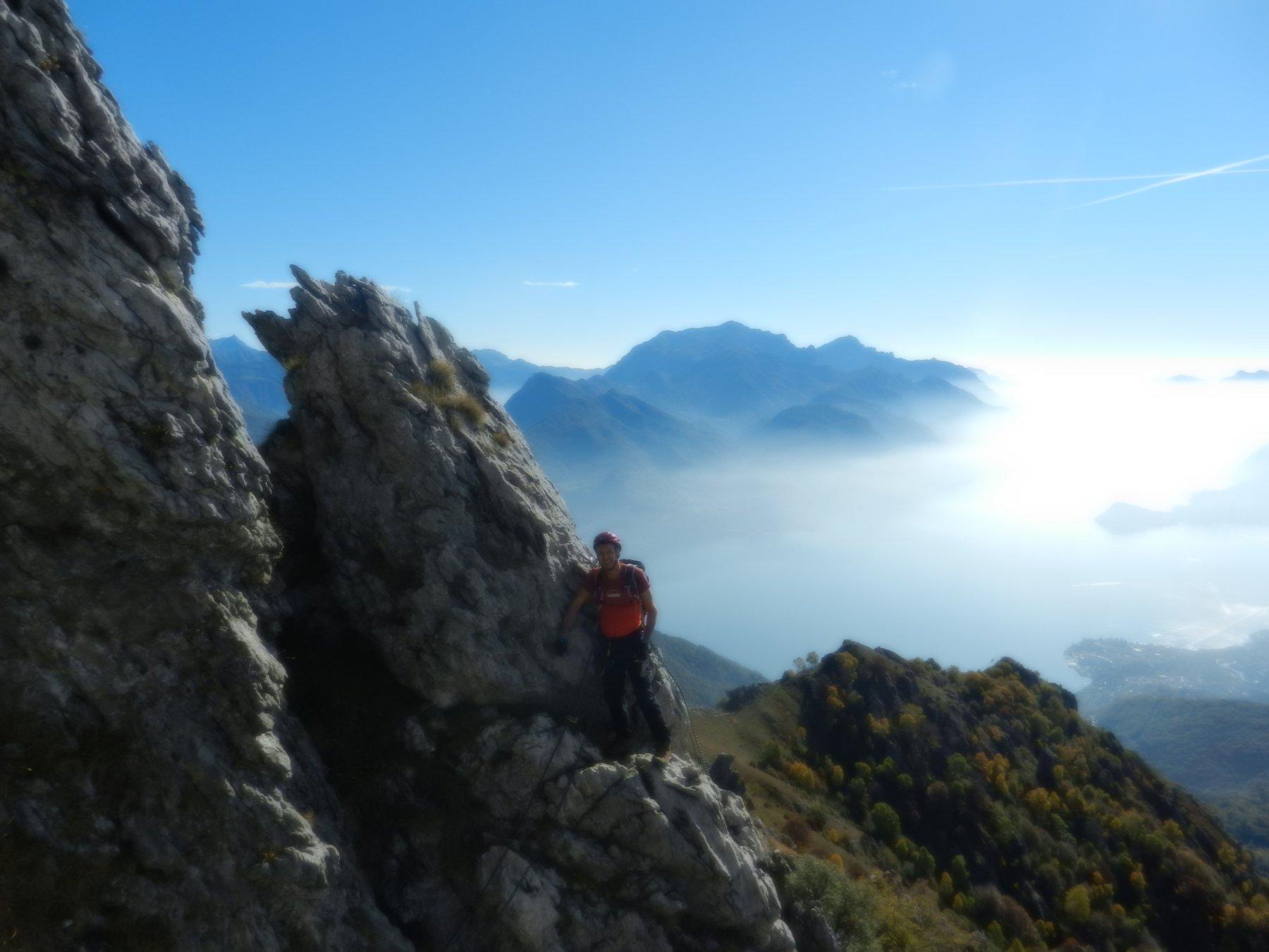 Ferrata del Centenario al Monte Grona