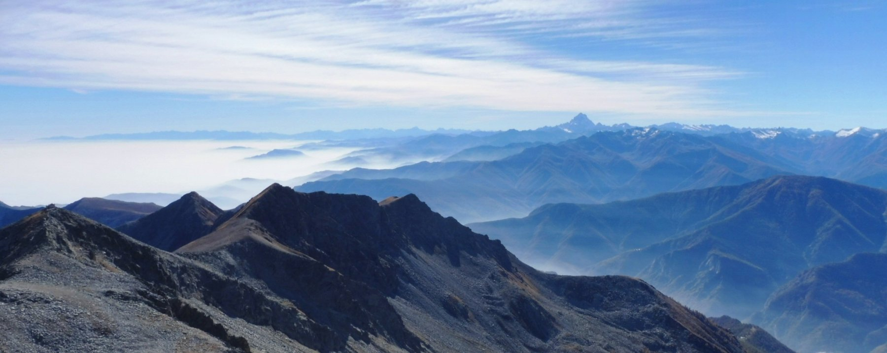panorama verso le Alpi Cuneesi
