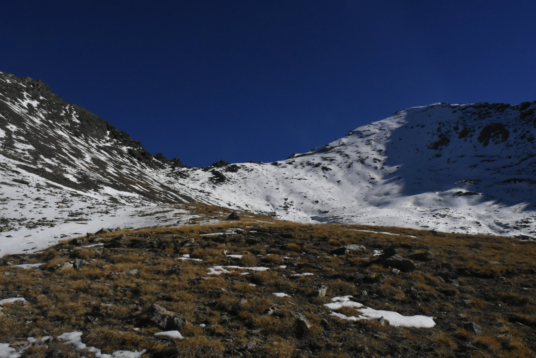 verso il colletto 2991 m