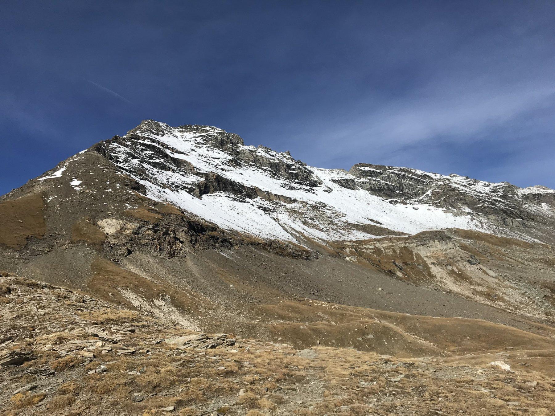 Clopaca (Passo e Monte) da Grange della Valle, anello per la Cima Quattro Denti 2018-10-24