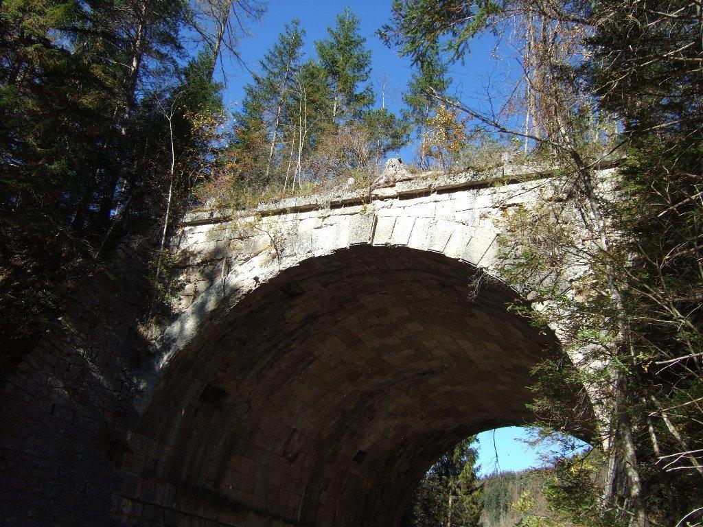 ponte della Vecchia Ferrovia, ora pista x bici