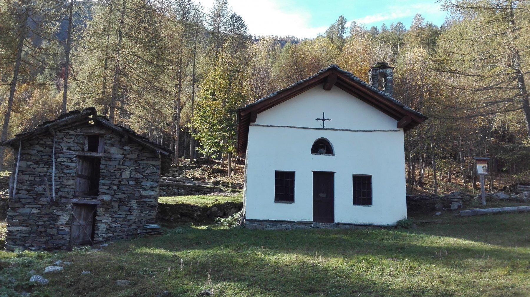 la chiesetta di Urtorei