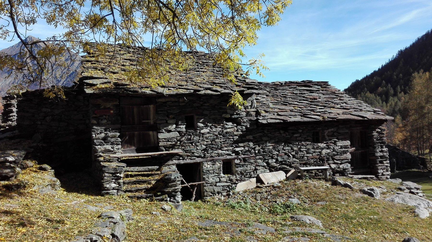 una delle case di Urtorei