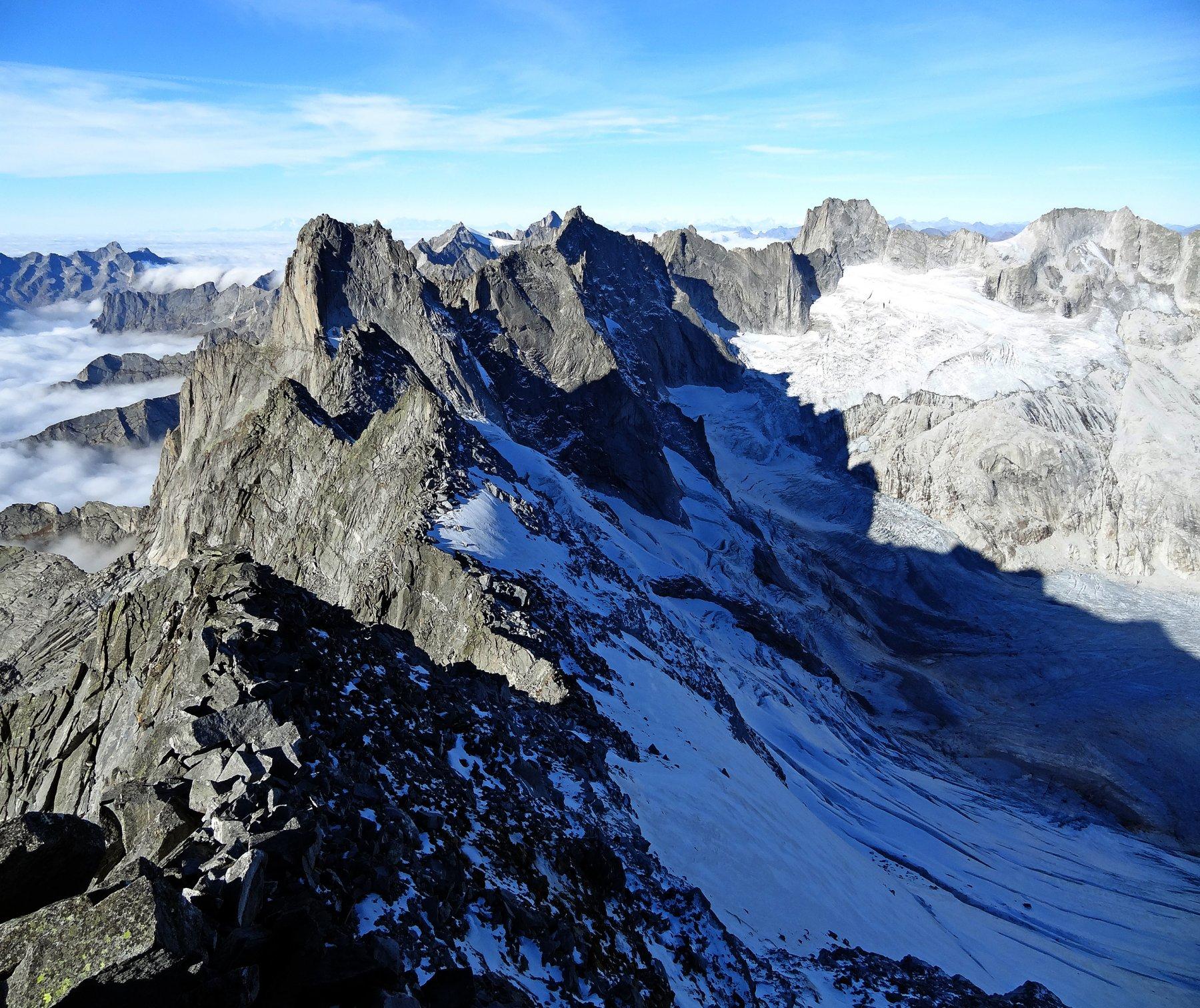 Sissone (Monte) dalla Val di Mello 2018-10-26