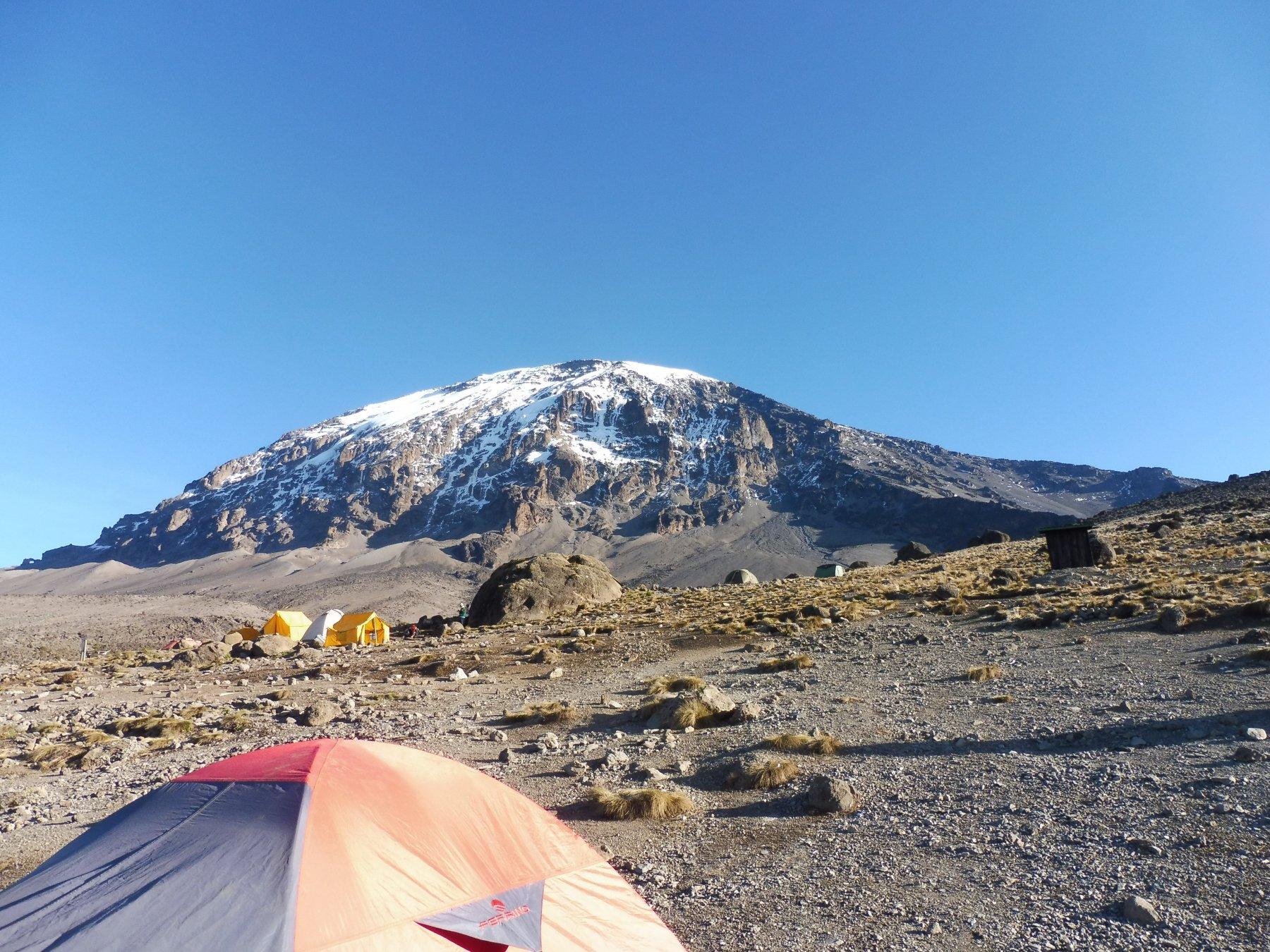 vista sul Kilimanjaro